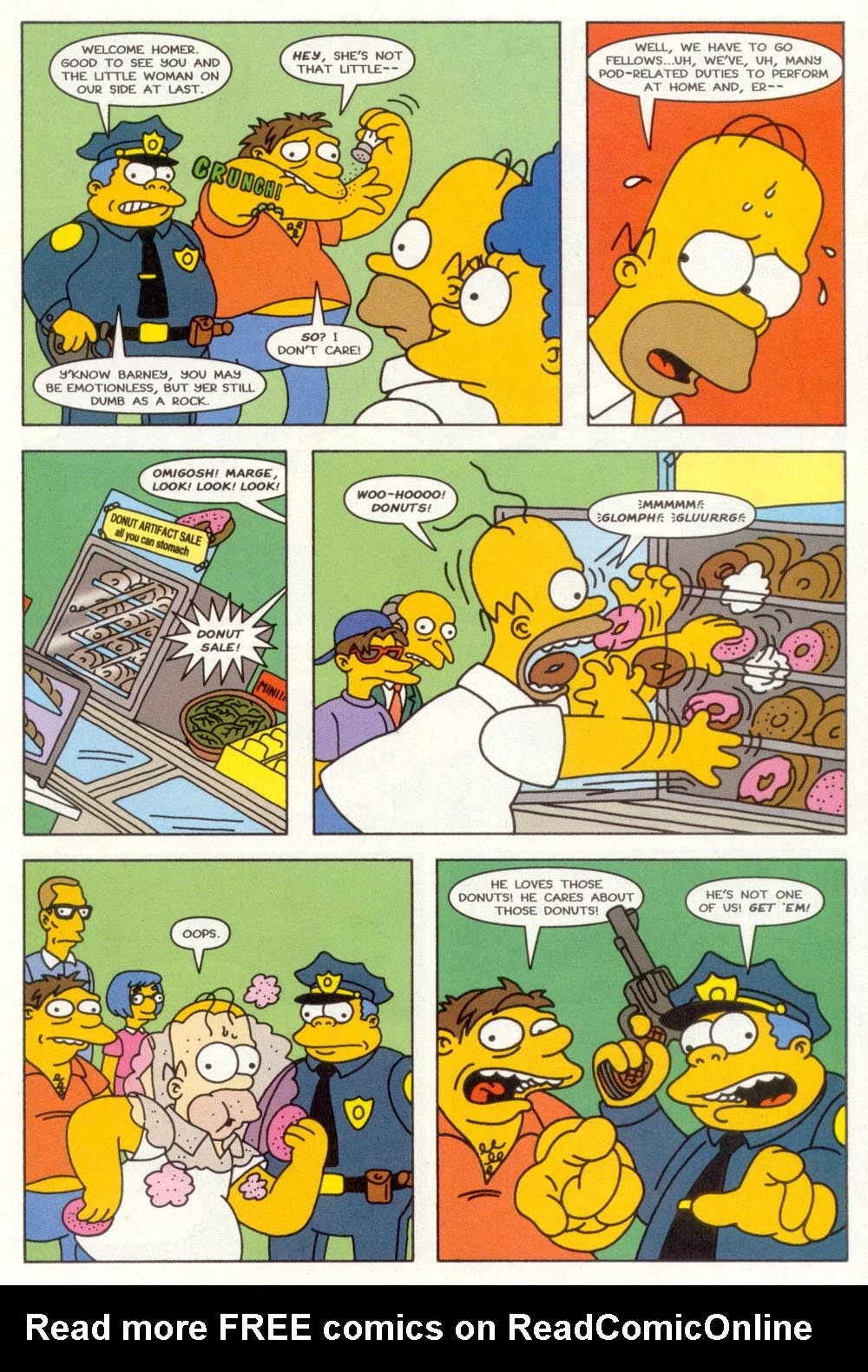 Read online Treehouse of Horror comic -  Issue #3 - 18
