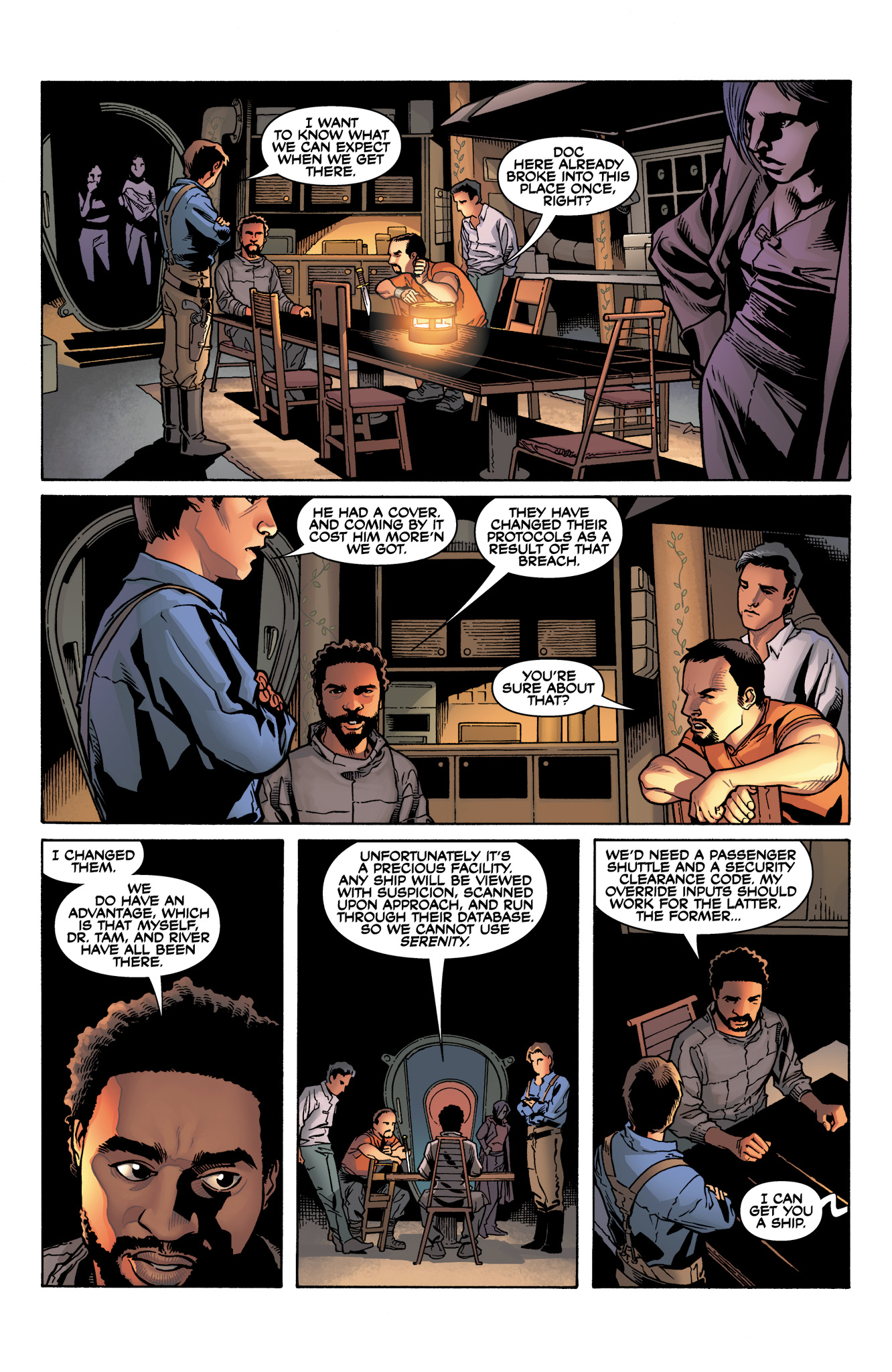 Read online Serenity: Firefly Class 03-K64  Leaves on the Wind comic -  Issue #4 - 7