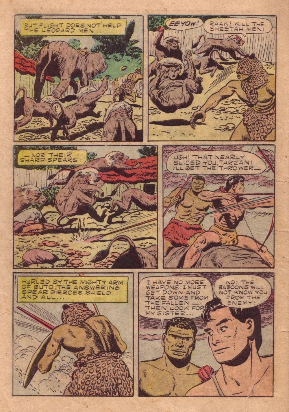 Tarzan (1948) issue 40 - Page 38