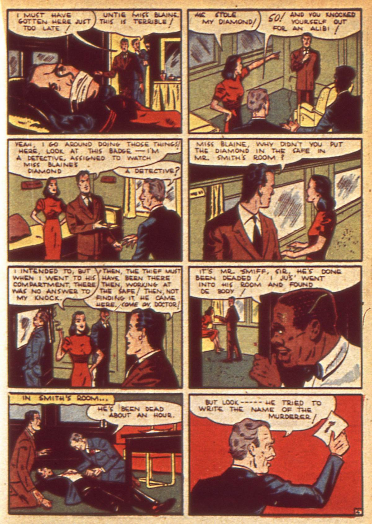 Read online Detective Comics (1937) comic -  Issue #49 - 35