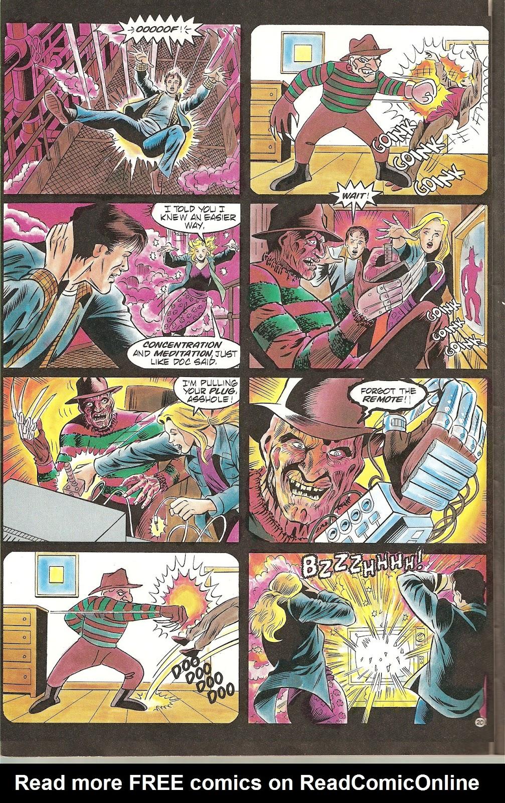 Read online Freddy's Dead: The Final Nightmare comic -  Issue #2 - 22