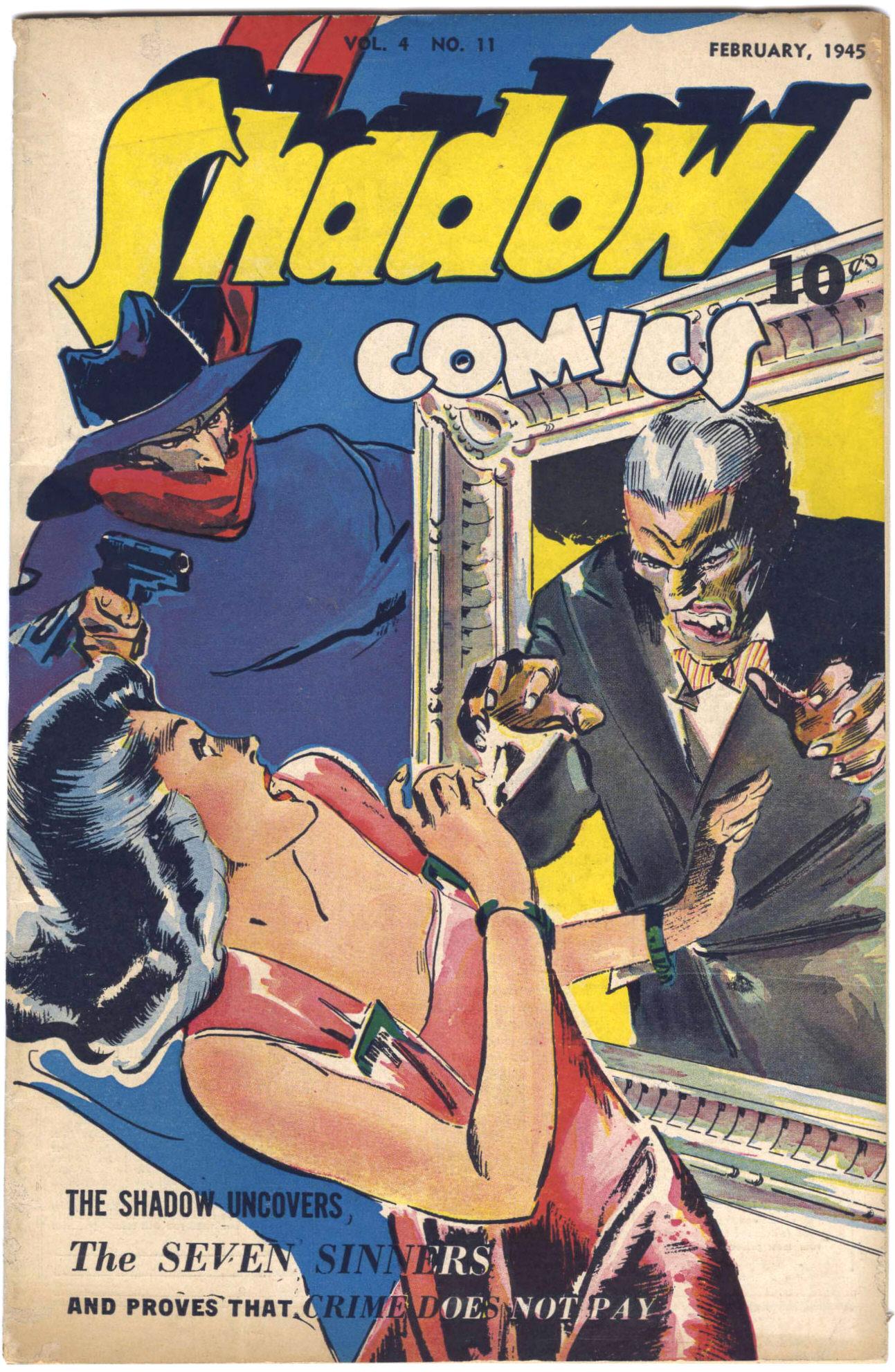 Read online Shadow Comics comic -  Issue #47 - 2