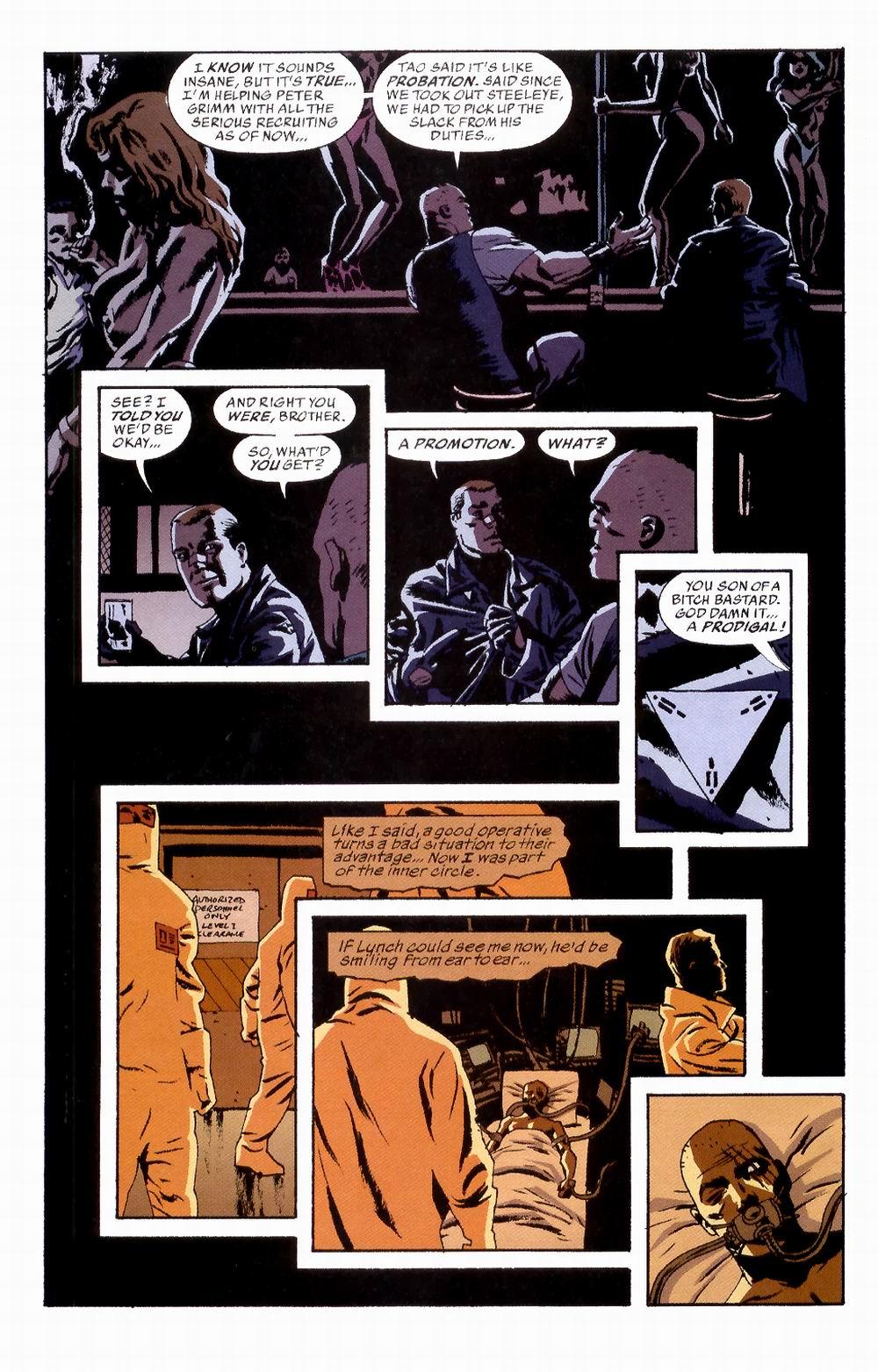 Read online Sleeper comic -  Issue #2 - 27