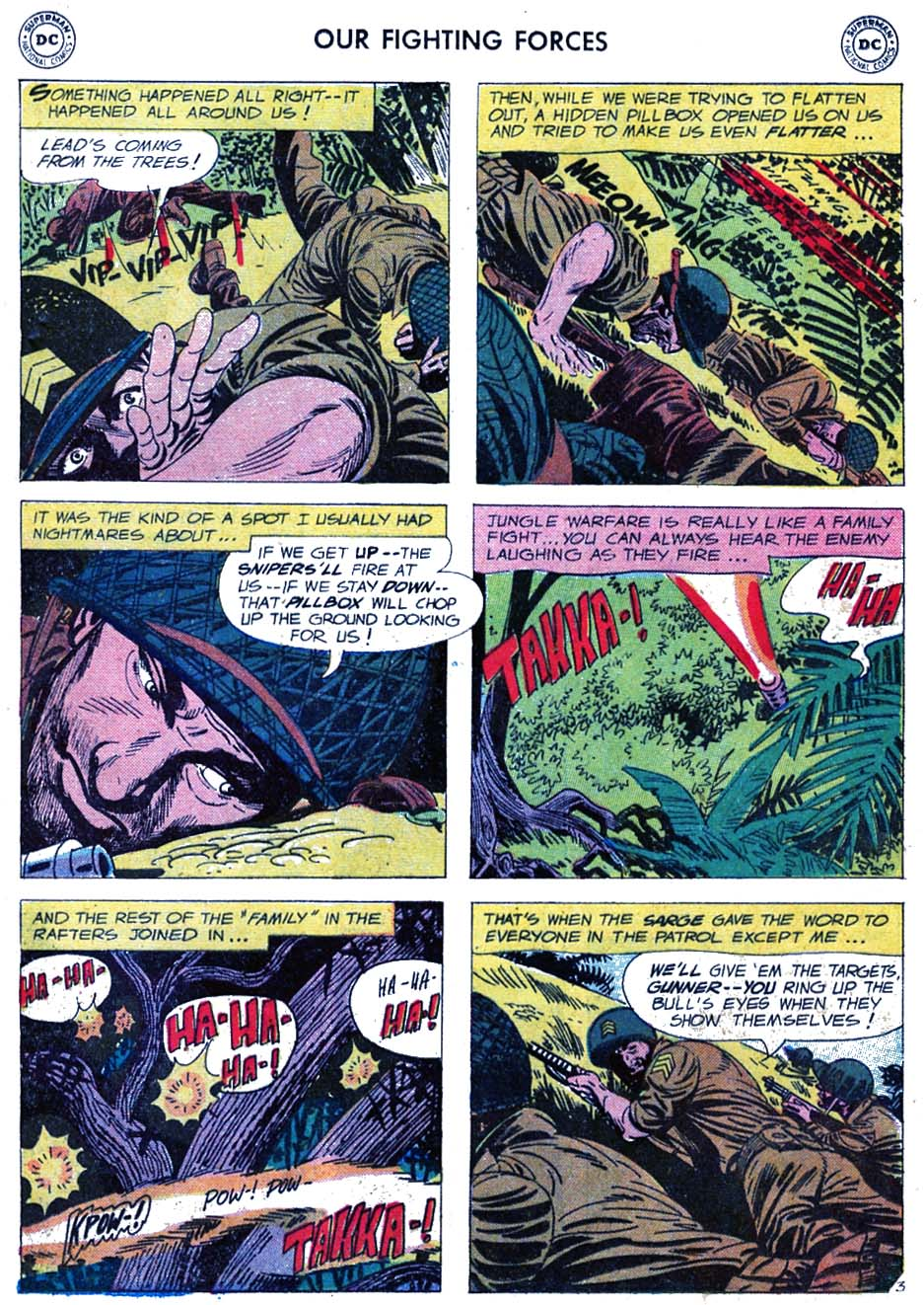Our Fighting Forces (1954) issue 46 - Page 5