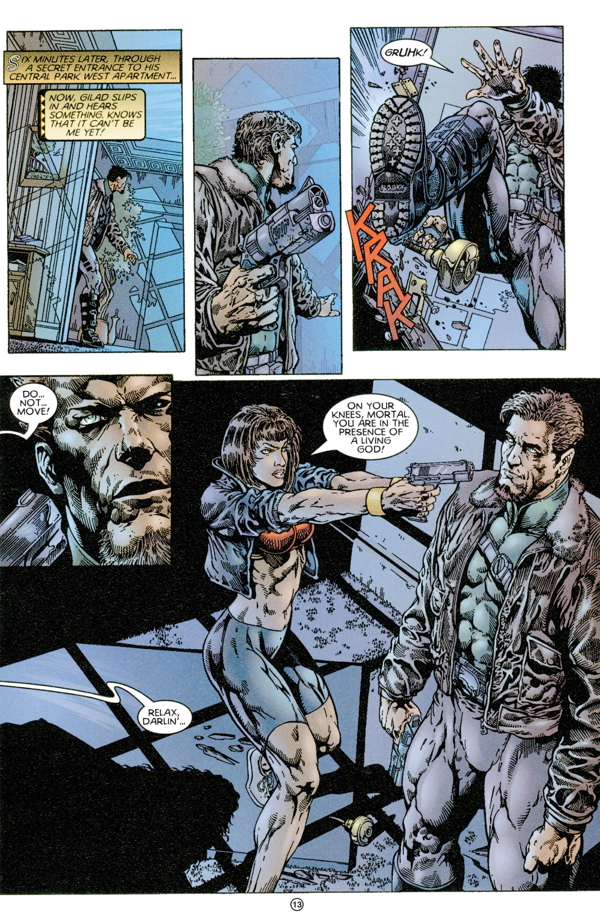 Read online Eternal Warriors comic -  Issue # Issue Time & Treachery - 12
