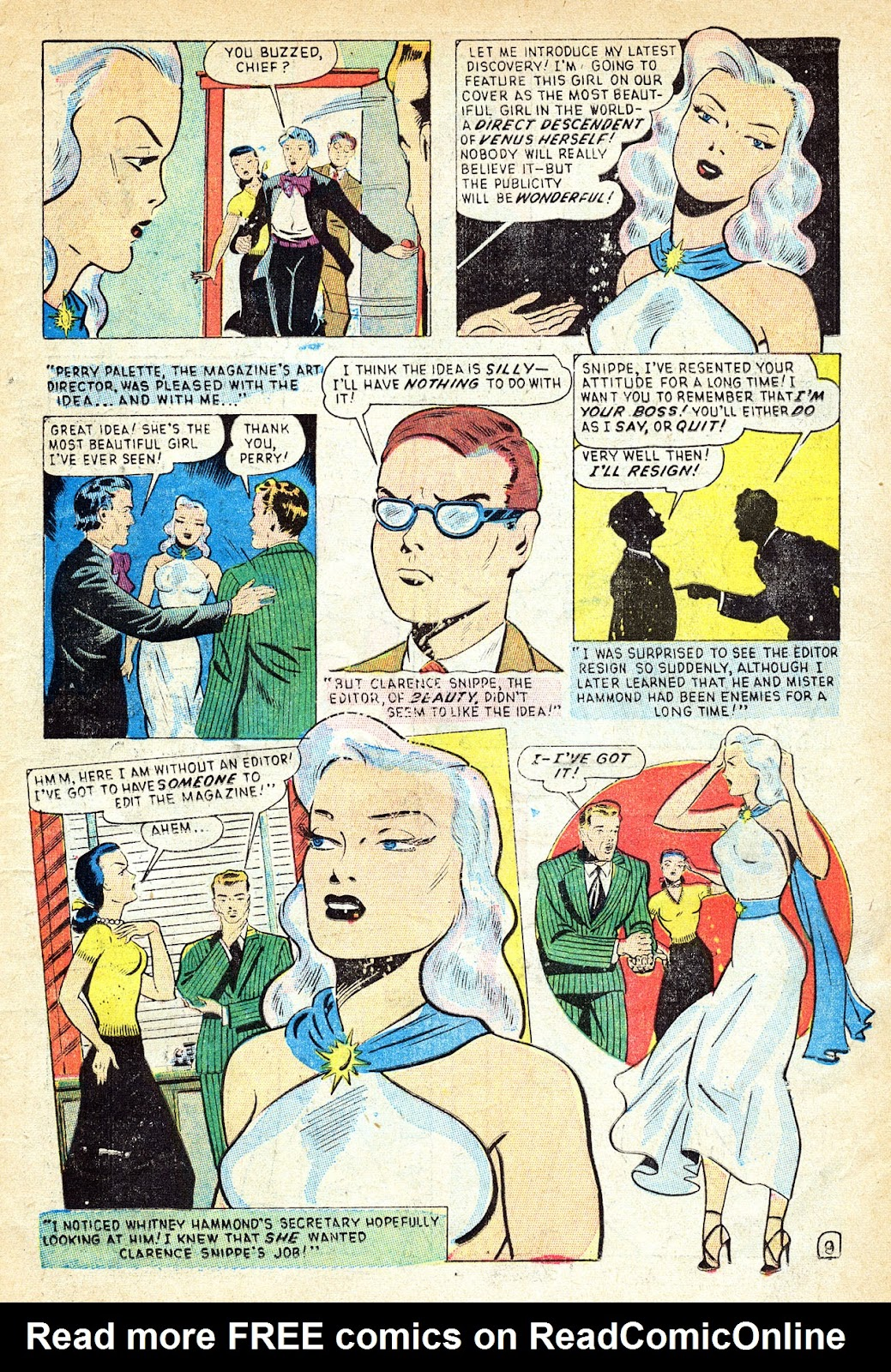 Venus (1948) issue 1 - Page 11