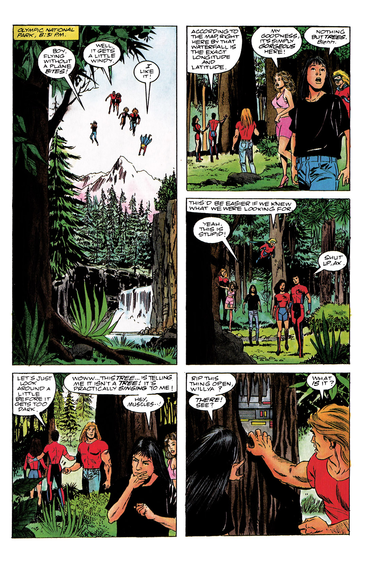 Read online Harbinger (1992) comic -  Issue #3 - 10