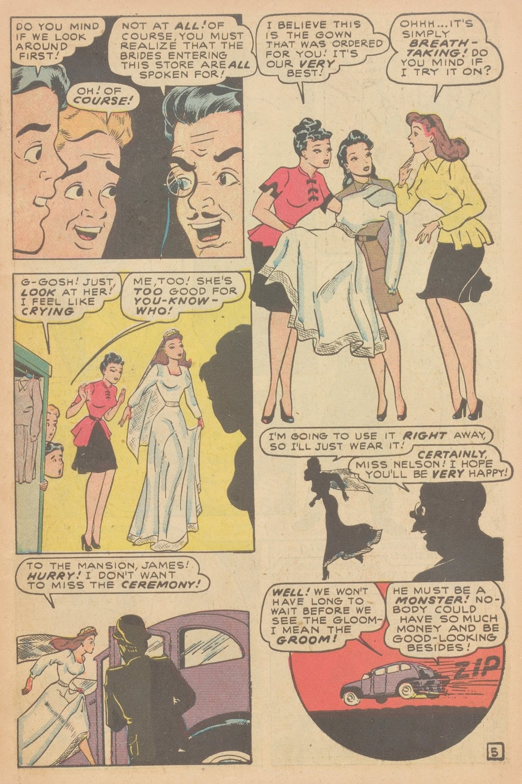 Read online Nellie The Nurse (1945) comic -  Issue #11 - 7