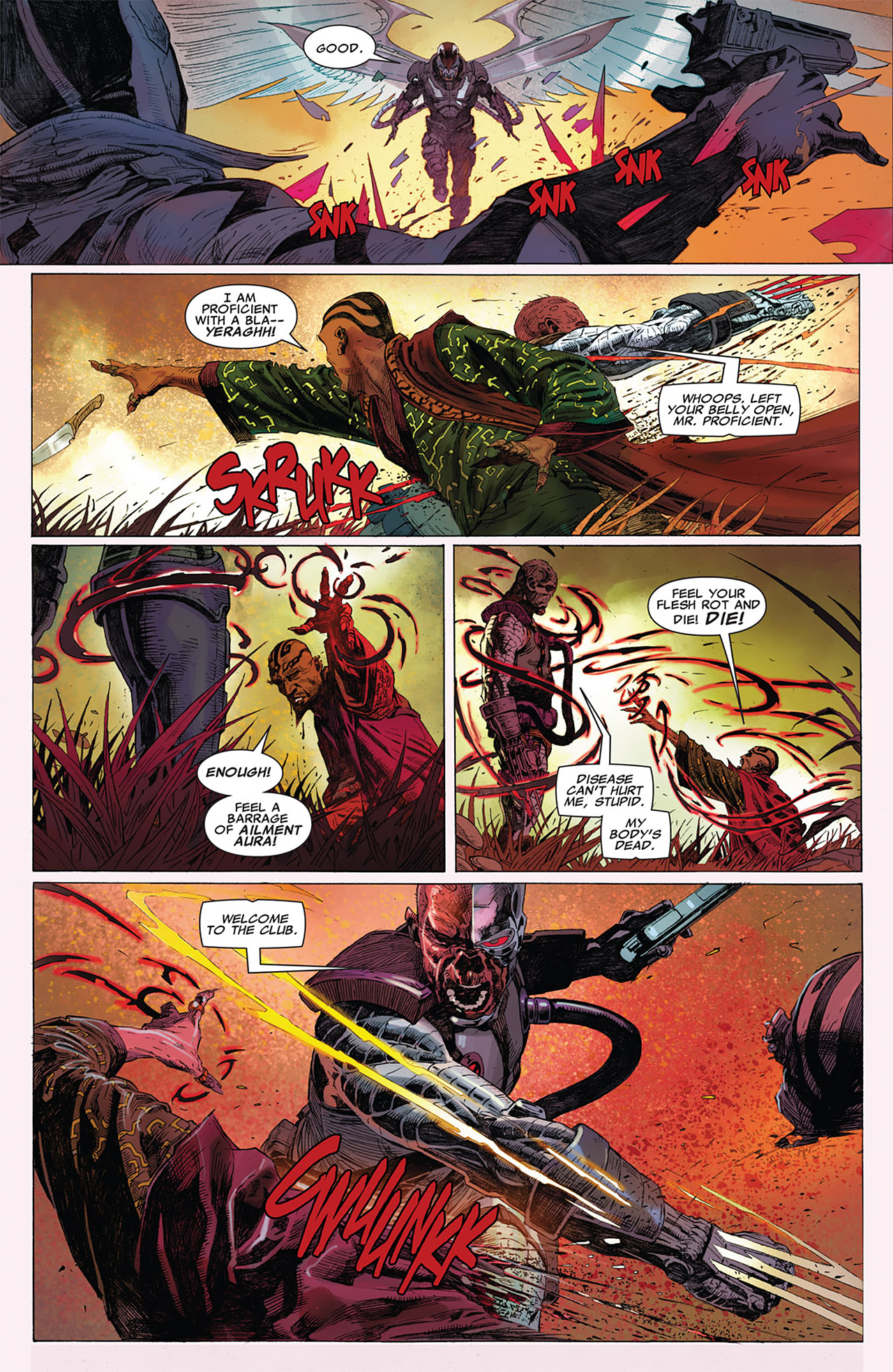 Read online Uncanny X-Force (2010) comic -  Issue #15 - 15
