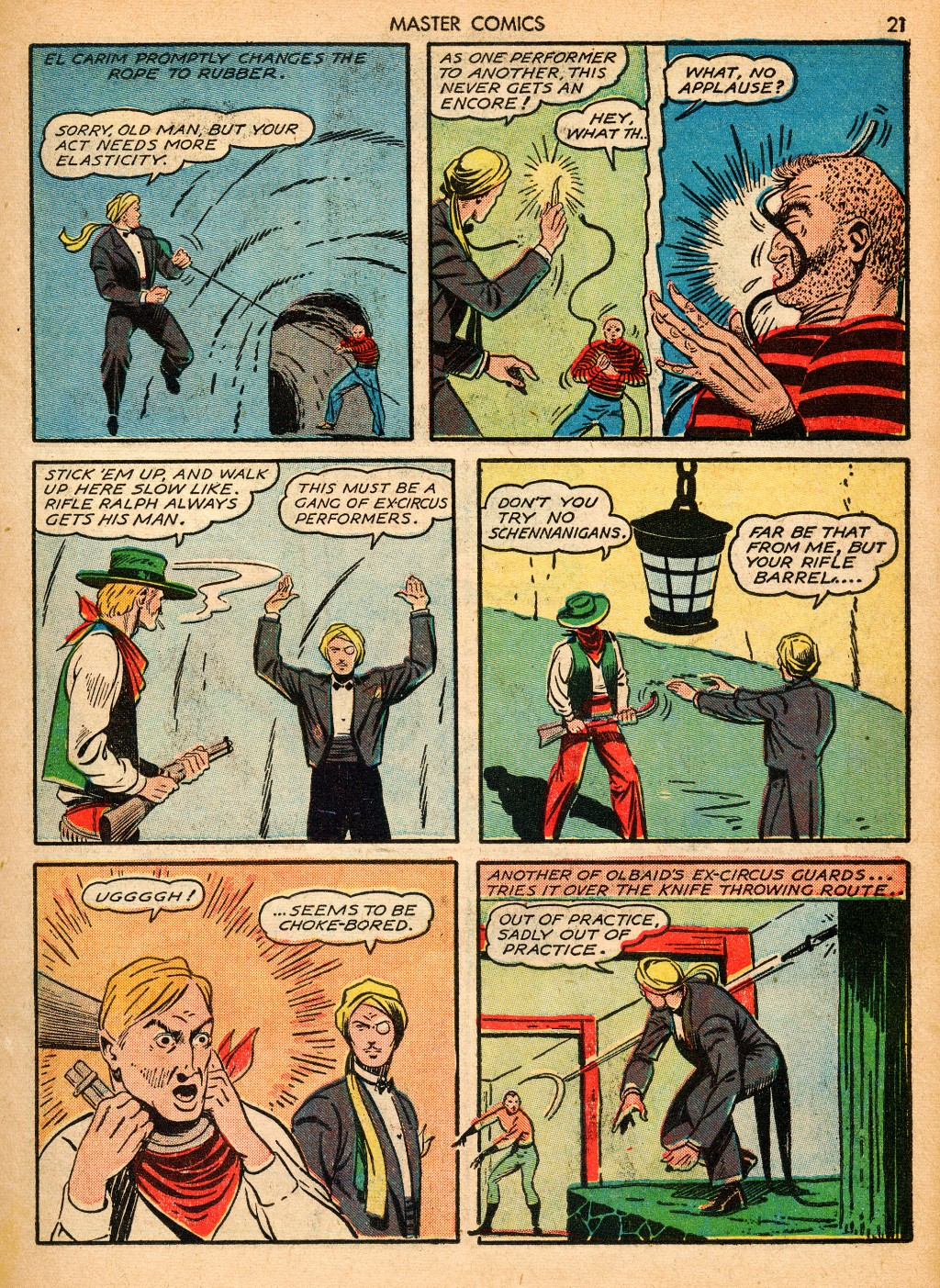 Master Comics issue 16 - Page 23