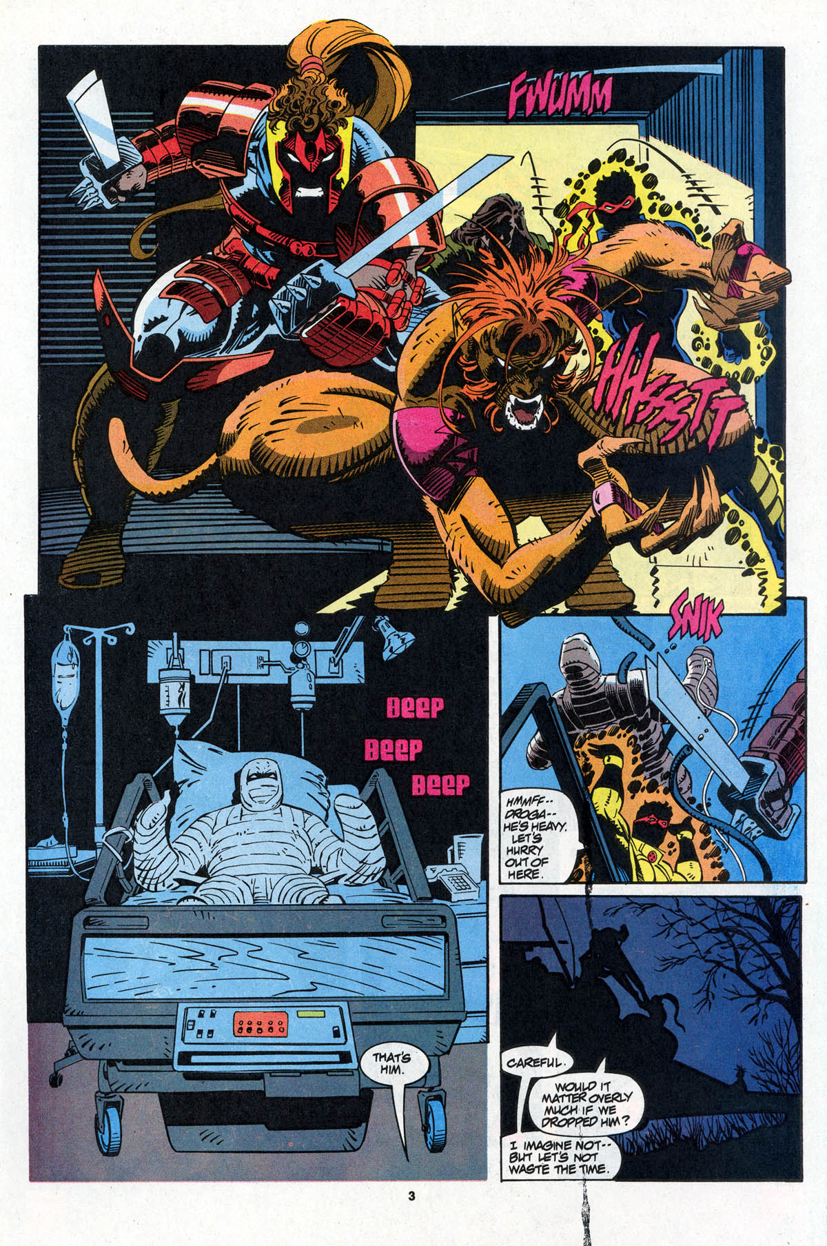 Read online X-Force (1991) comic -  Issue #23 - 5