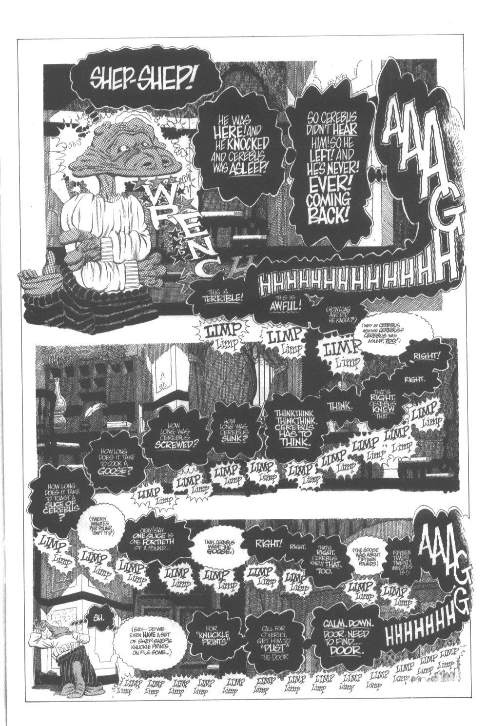 Cerebus Issue #296 #294 - English 17