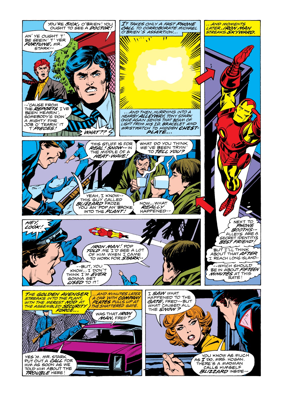 Read online Marvel Masterworks: The Invincible Iron Man comic -  Issue # TPB 11 (Part 1) - 93