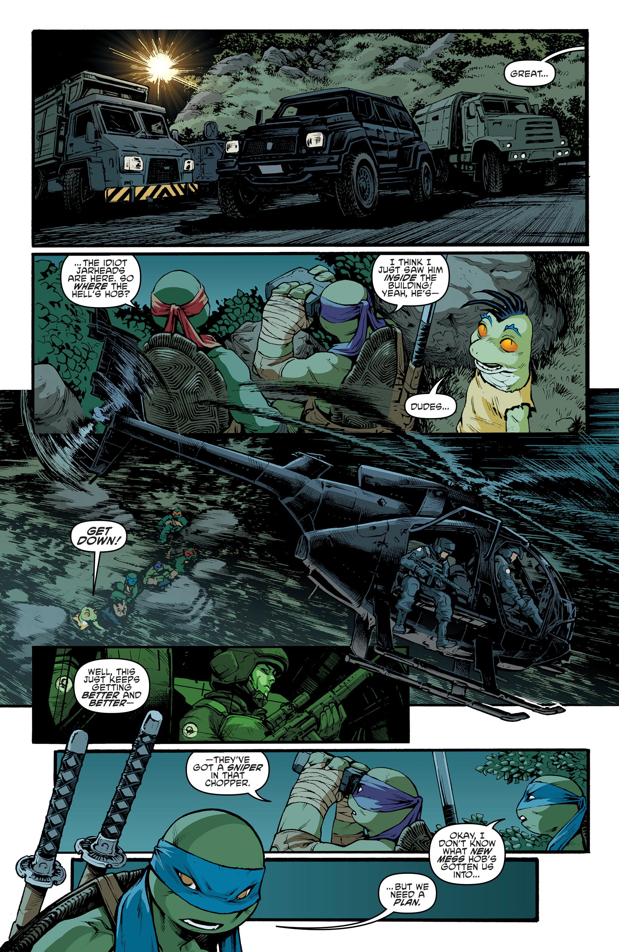 Read online Teenage Mutant Ninja Turtles (2011) comic -  Issue #70 - 4