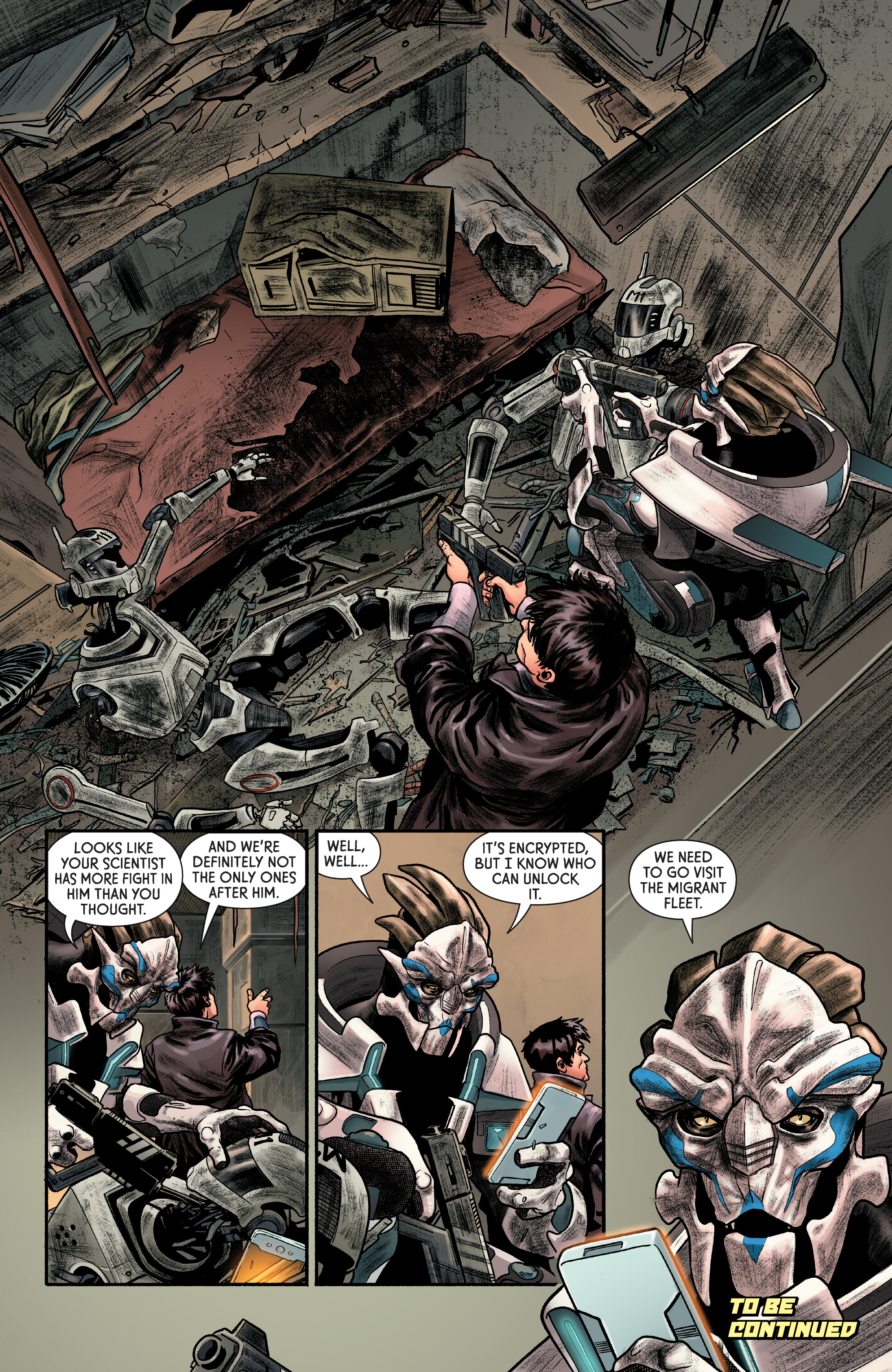 Read online Mass Effect: Discovery comic -  Issue #1 - 25