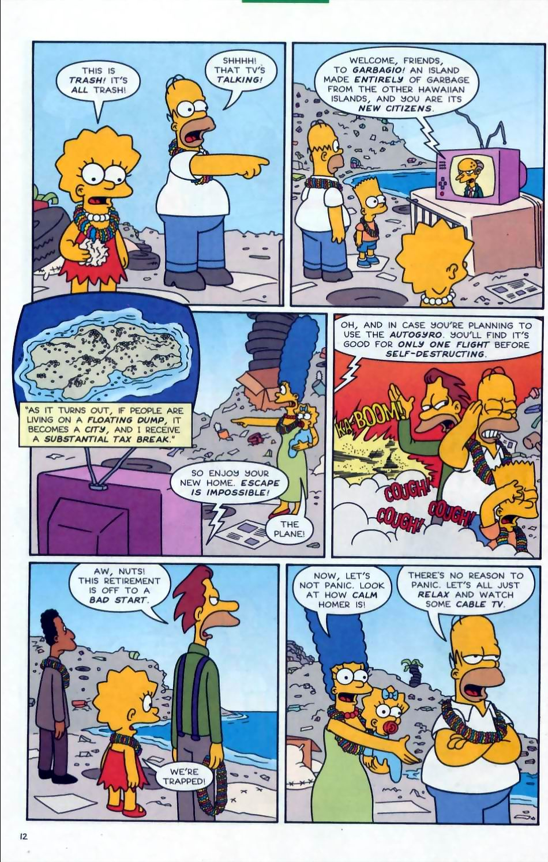 Read online Simpsons Comics comic -  Issue #72 - 13