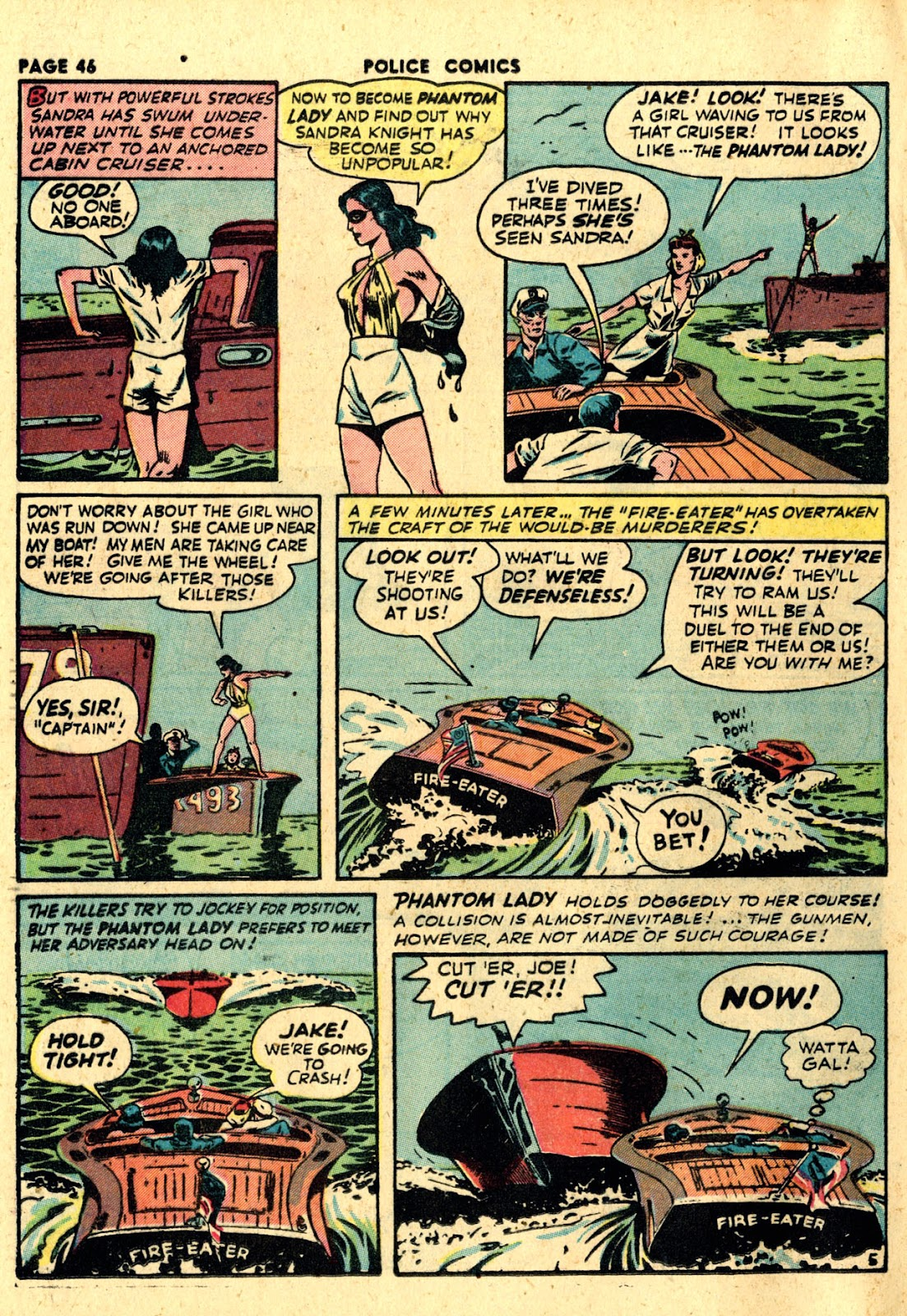 Police Comics issue 19 - Page 48