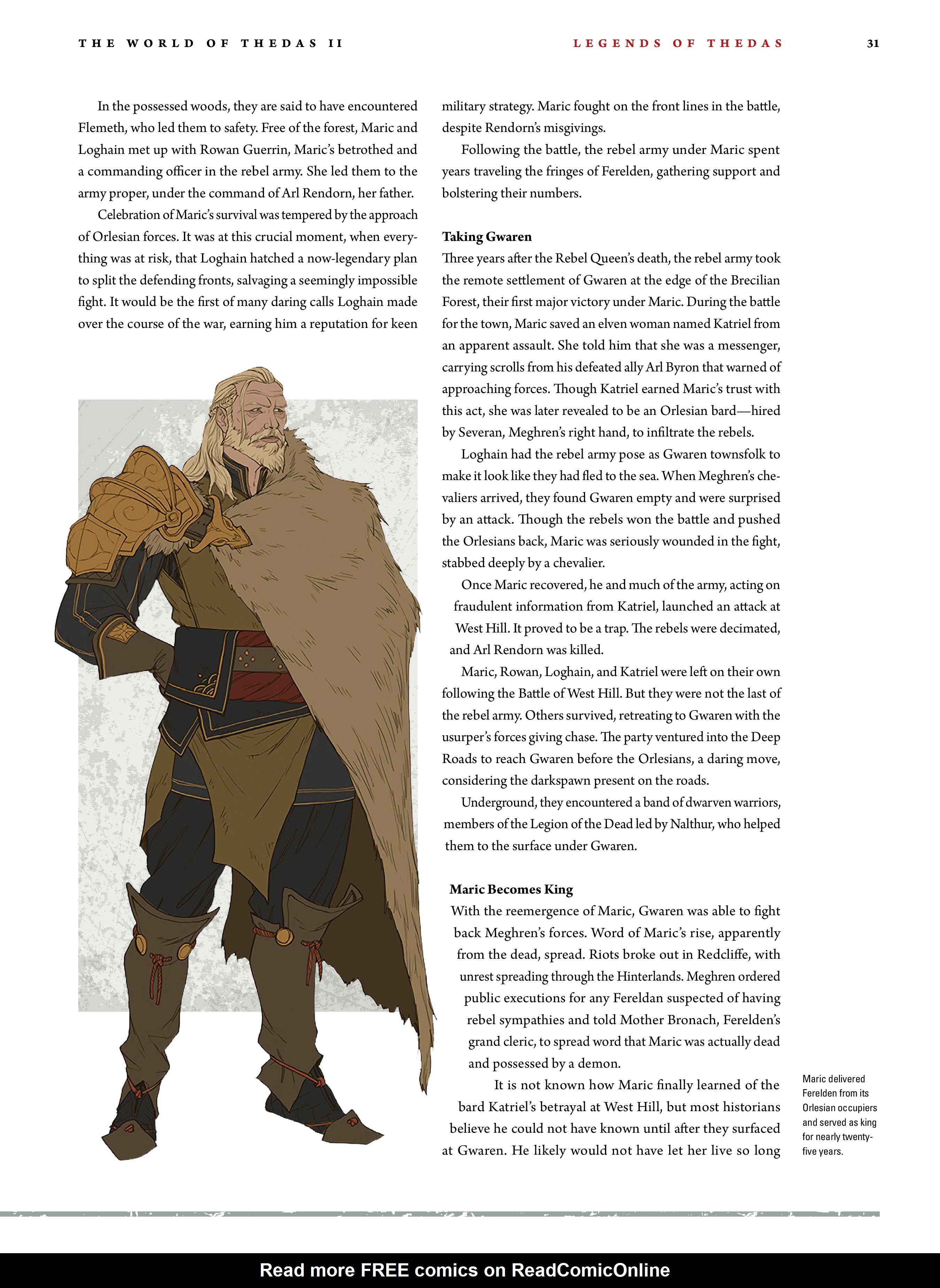 Read online Dragon Age: The World of Thedas comic -  Issue # TPB 2 - 28