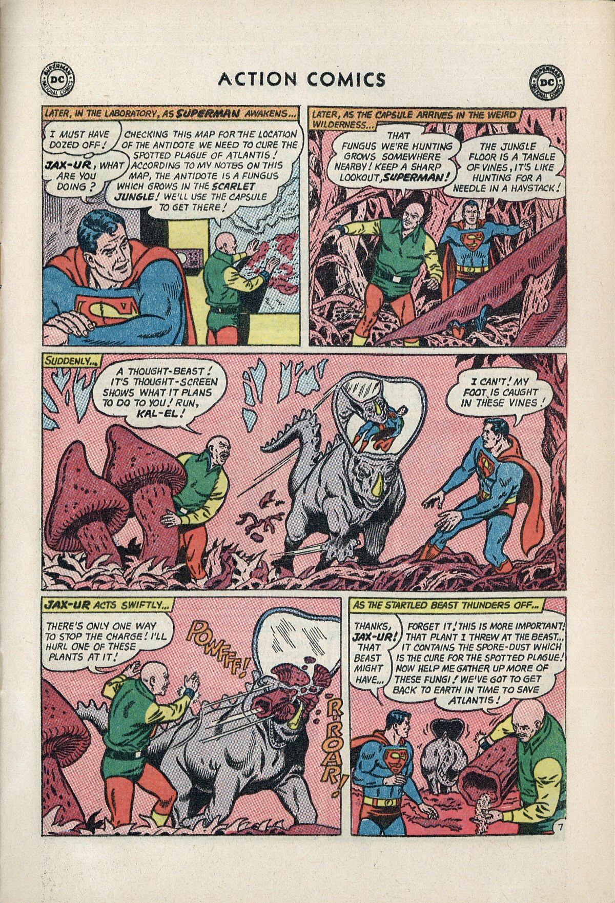 Read online Action Comics (1938) comic -  Issue #310 - 9