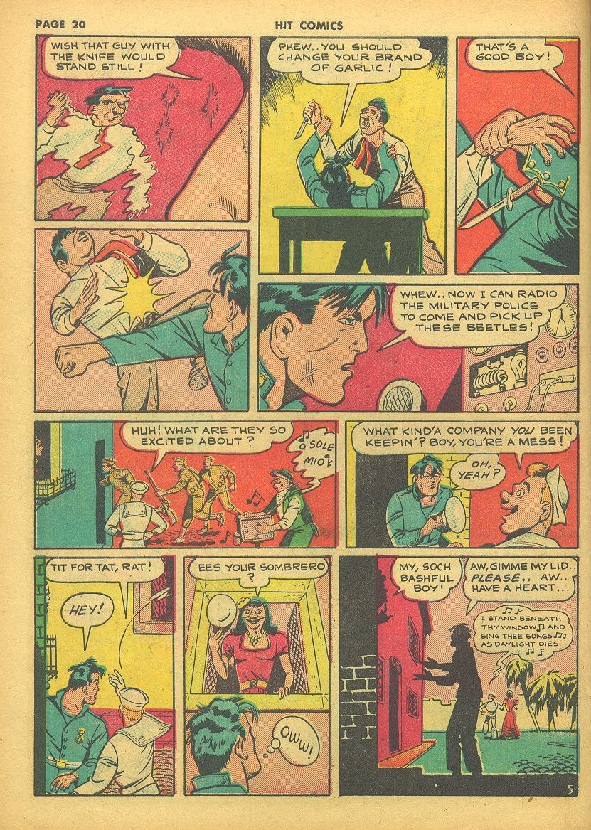 Read online Hit Comics comic -  Issue #24 - 22