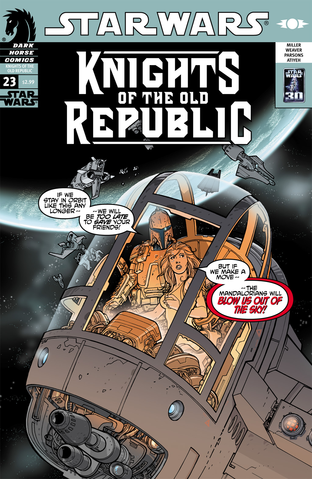 Star Wars: Knights Of The Old Republic issue 23 - Page 1
