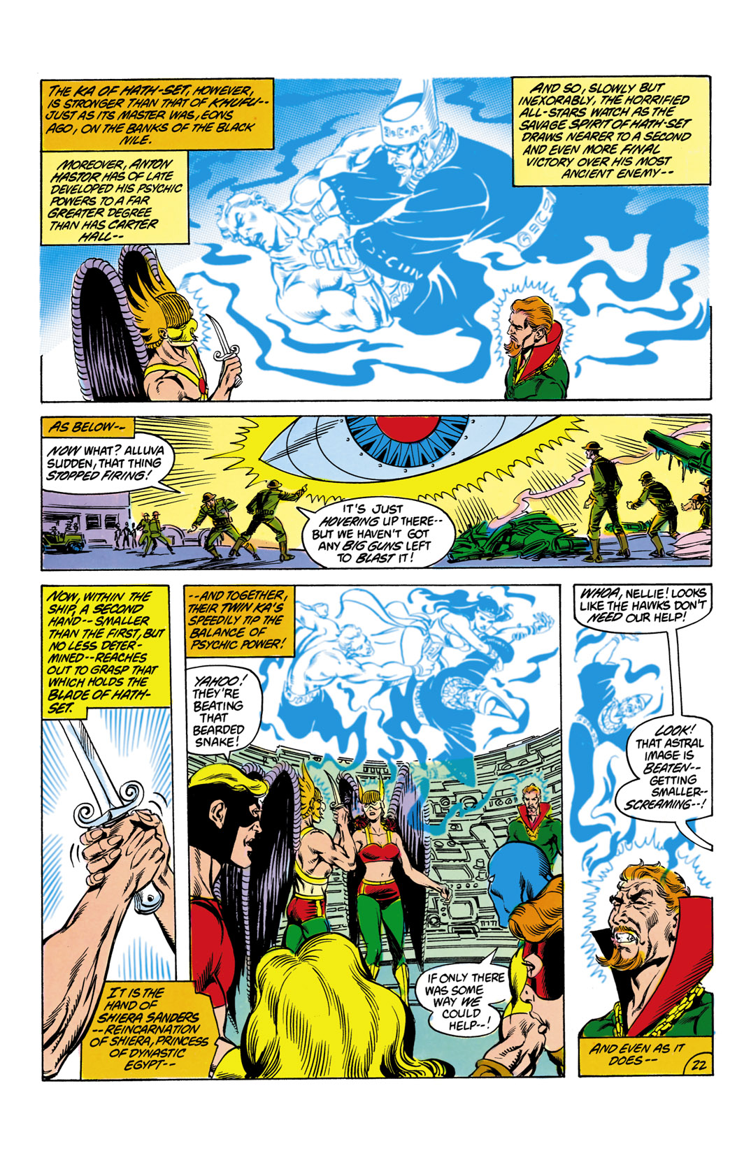 Read online All-Star Squadron comic -  Issue #12 - 23