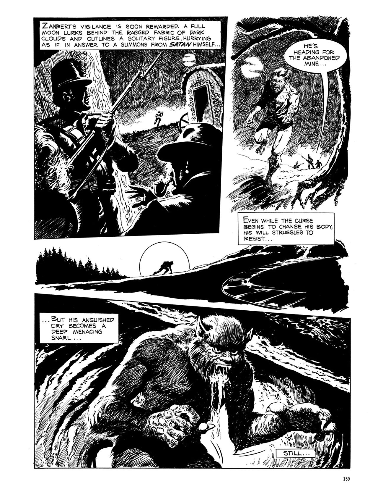 Read online Eerie Archives comic -  Issue # TPB 6 - 159