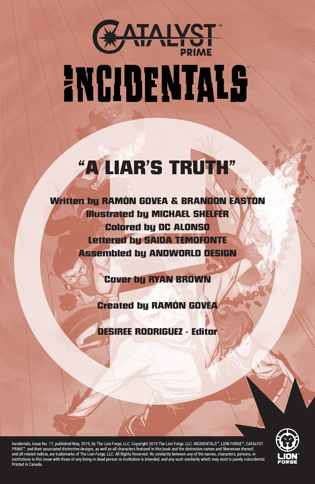 Read online Incidentals comic -  Issue #17 - 2