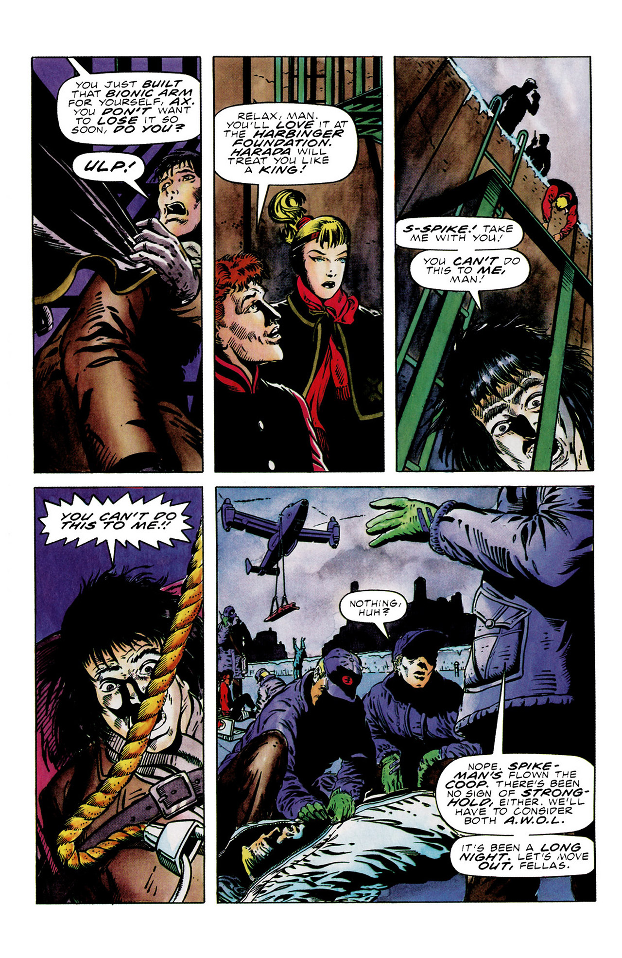 Read online Harbinger (1992) comic -  Issue #16 - 21