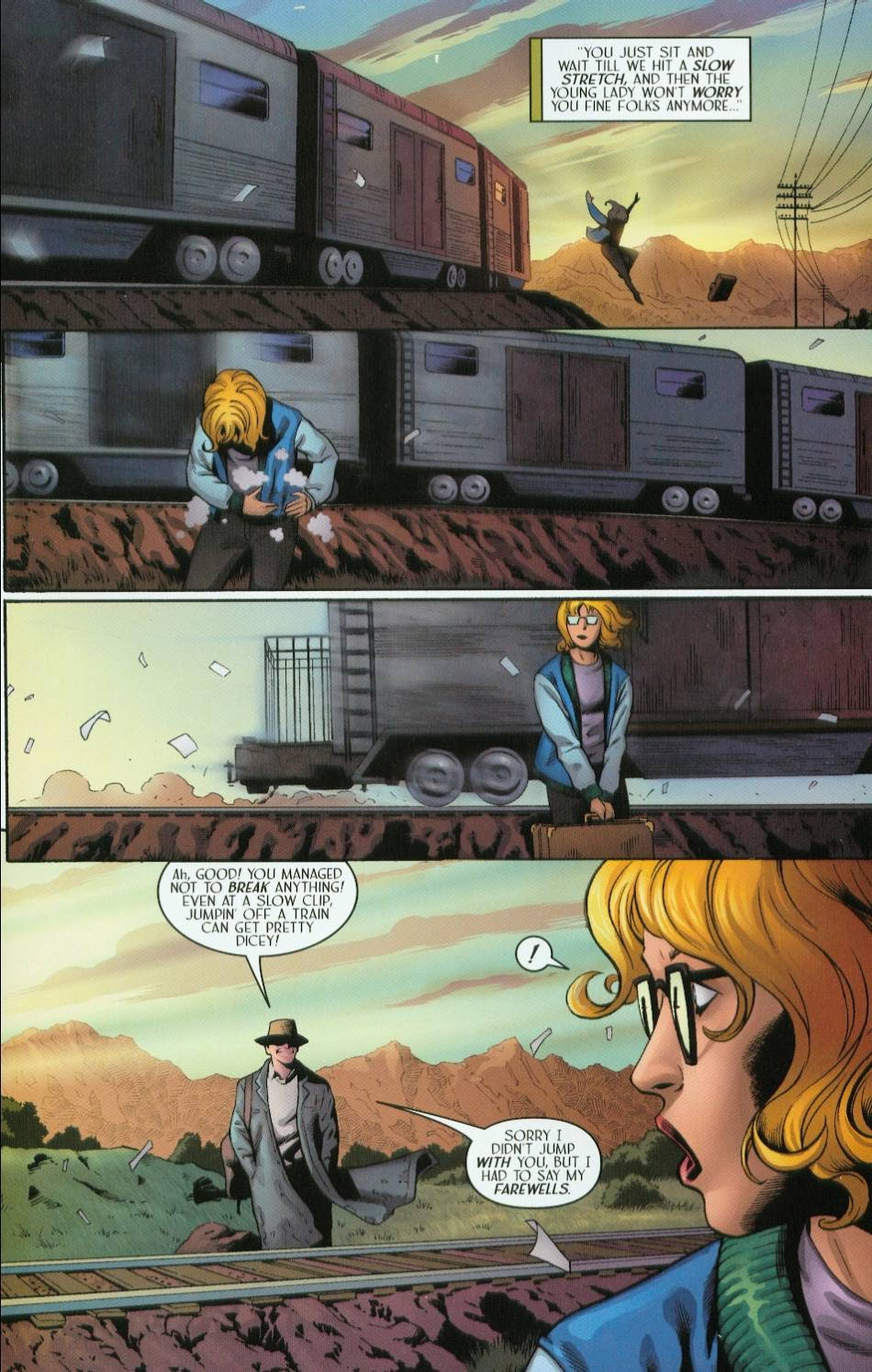 Read online Route 666 comic -  Issue #5 - 7