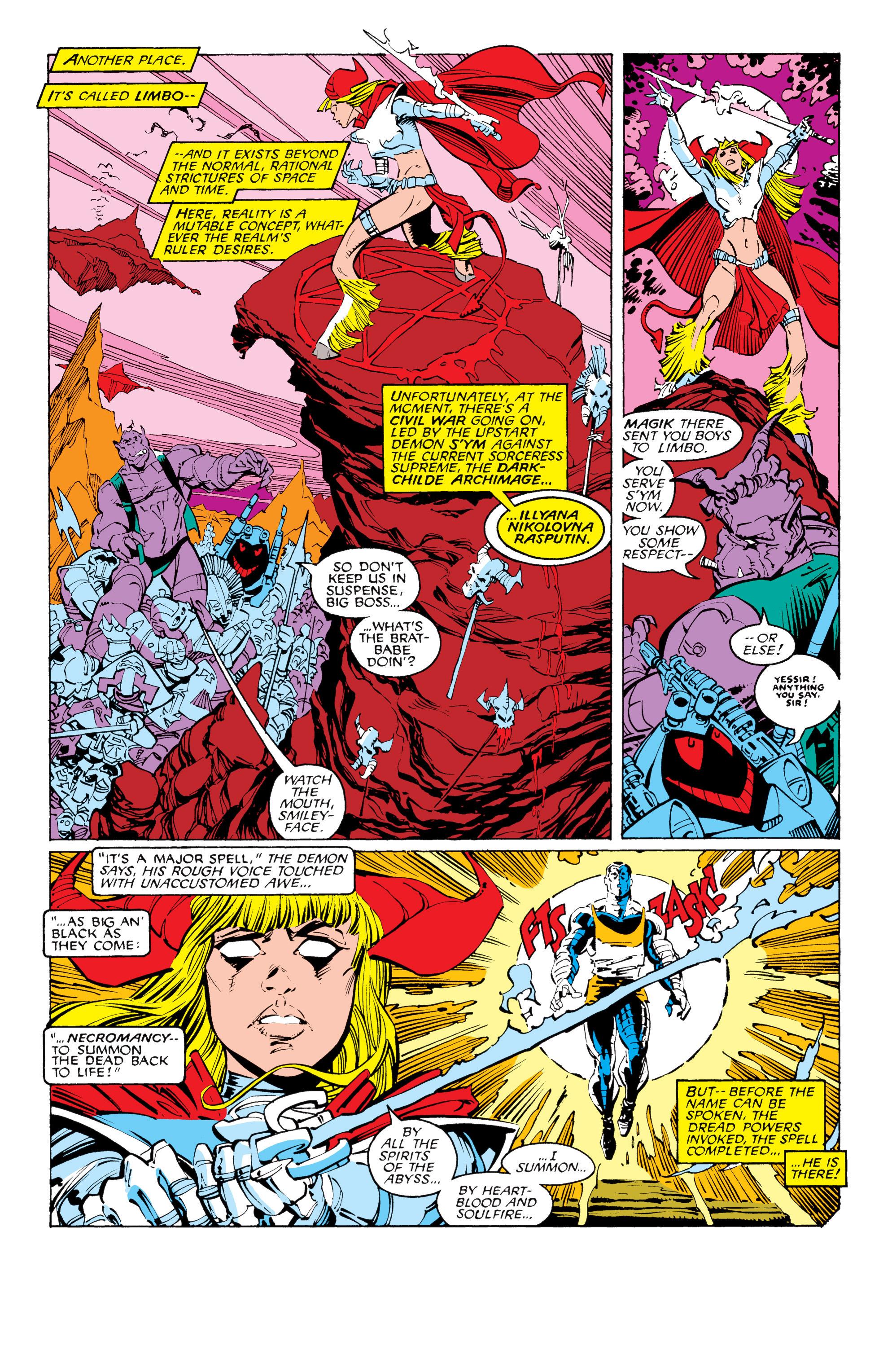 Read online Uncanny X-Men (1963) comic -  Issue #231 - 10