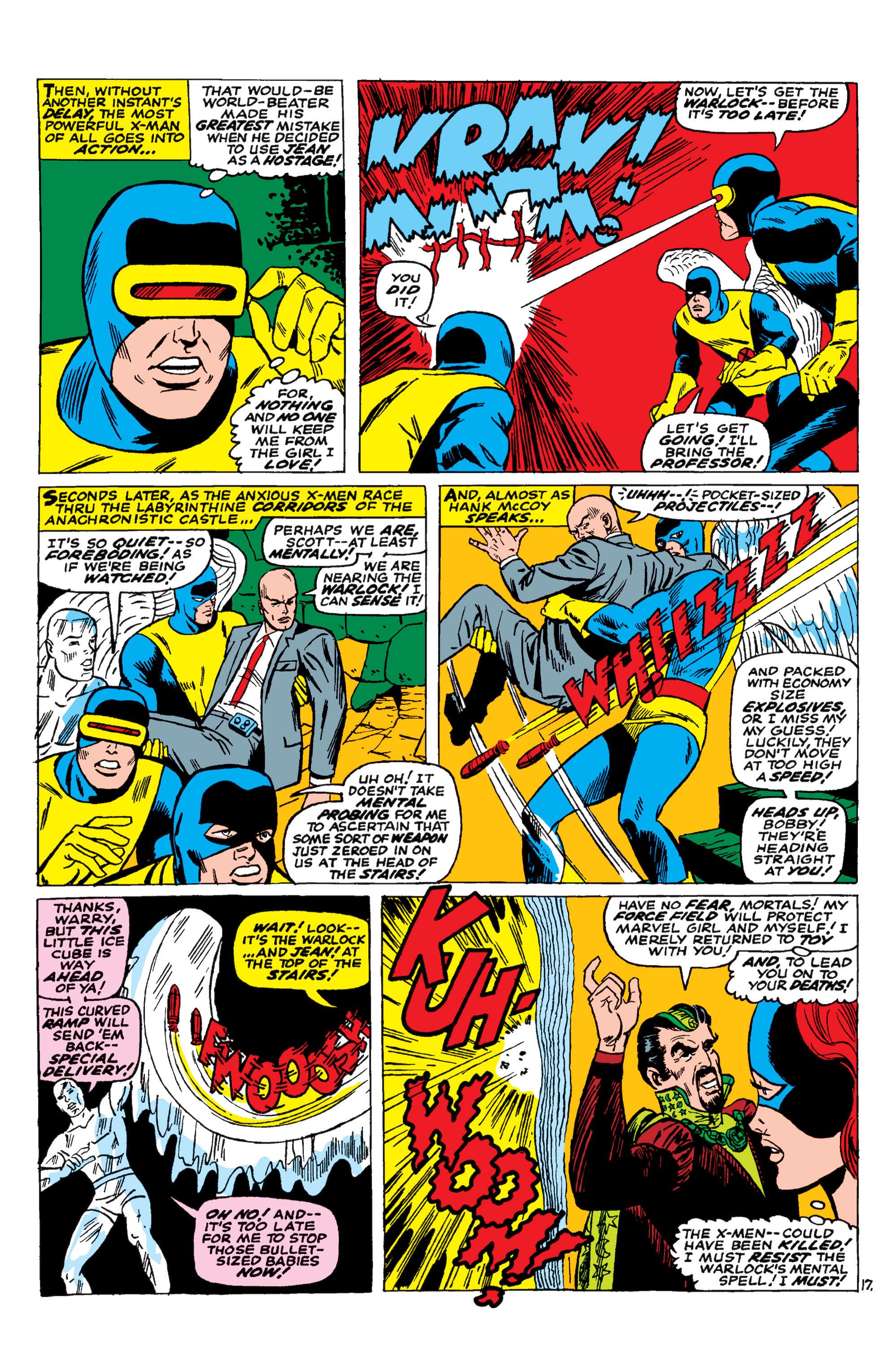 Uncanny X-Men (1963) 30 Page 17