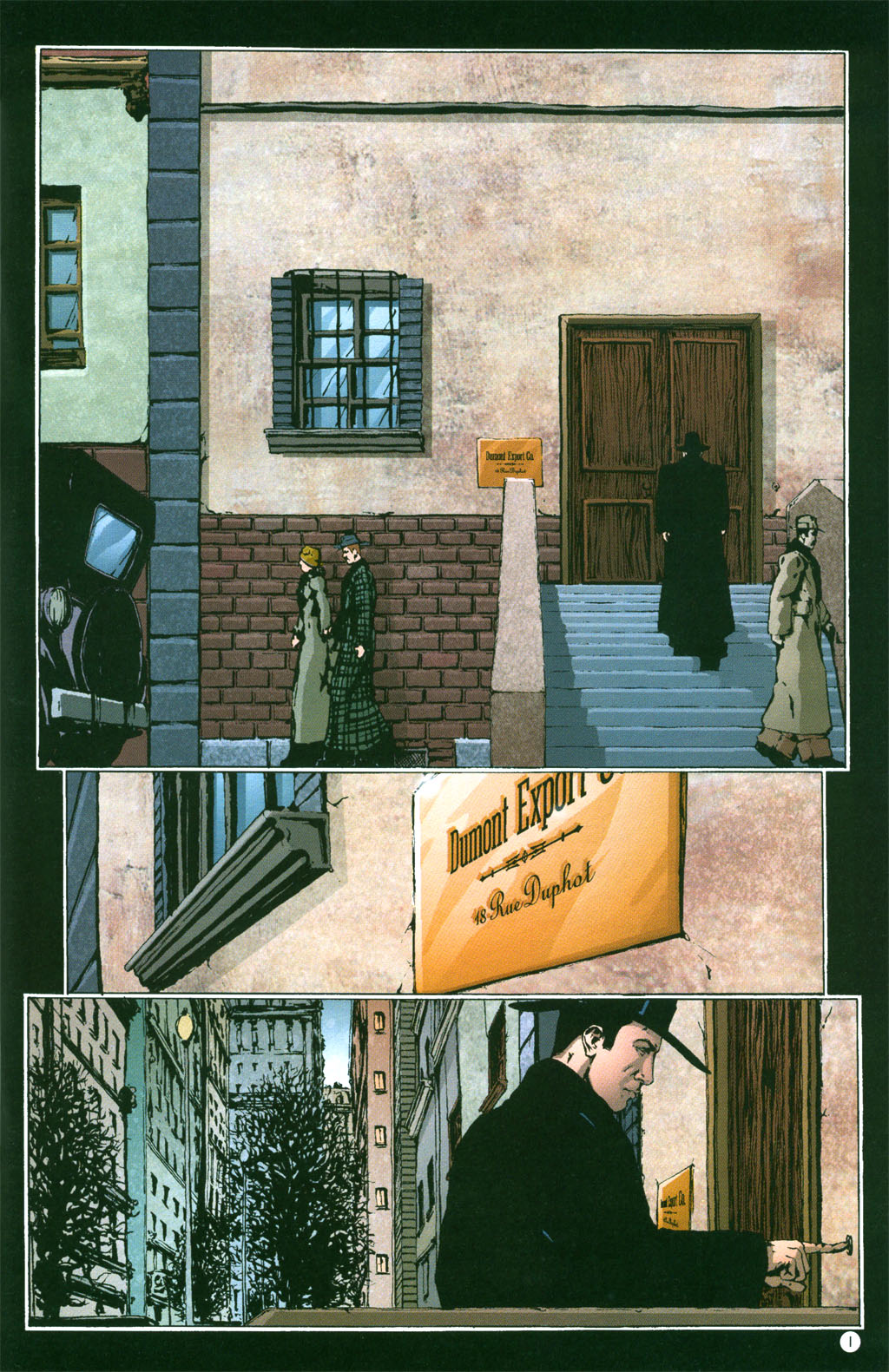 Read online Rex Mundi comic -  Issue #4 - 3