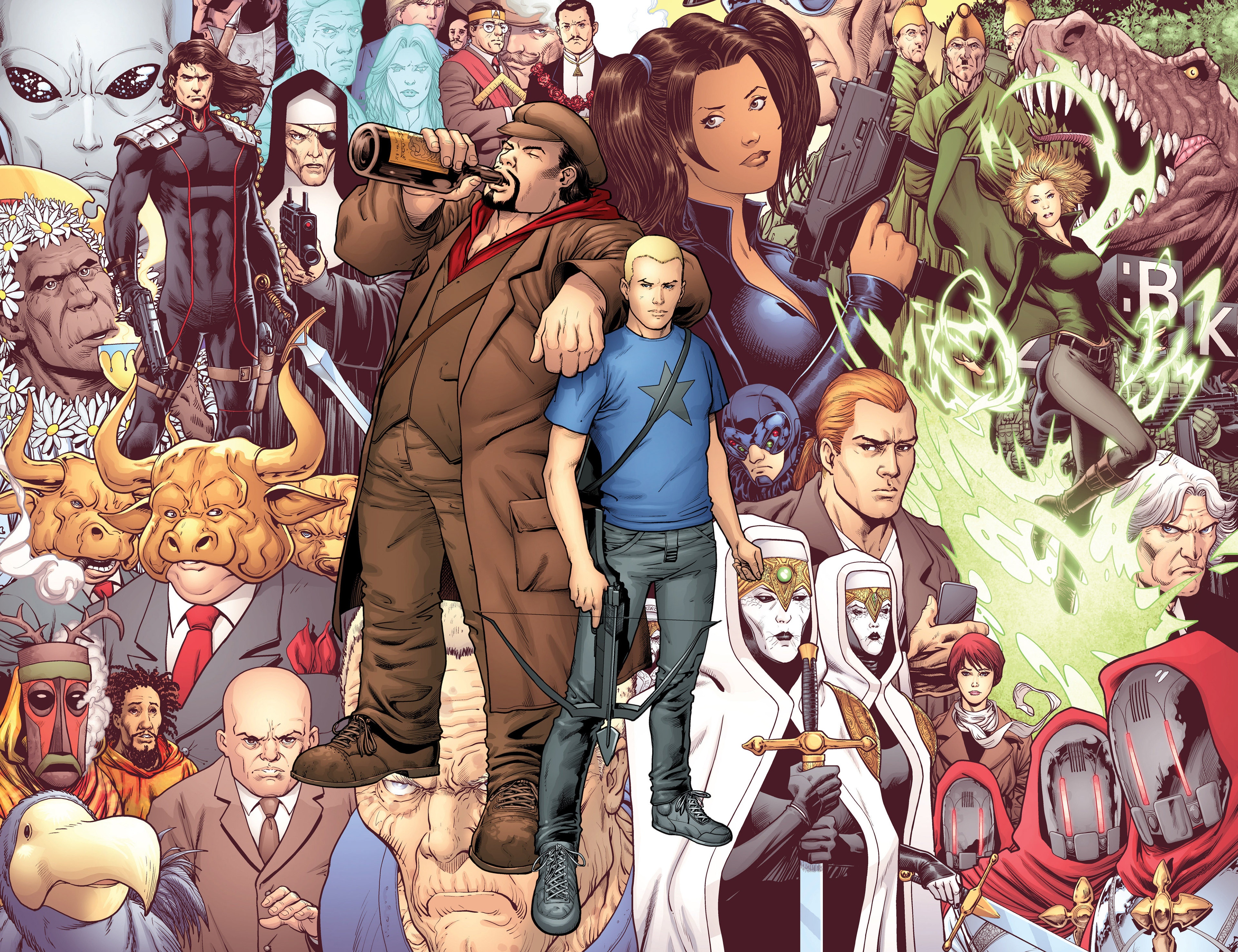 Read online Archer and Armstrong comic -  Issue #25 - 31