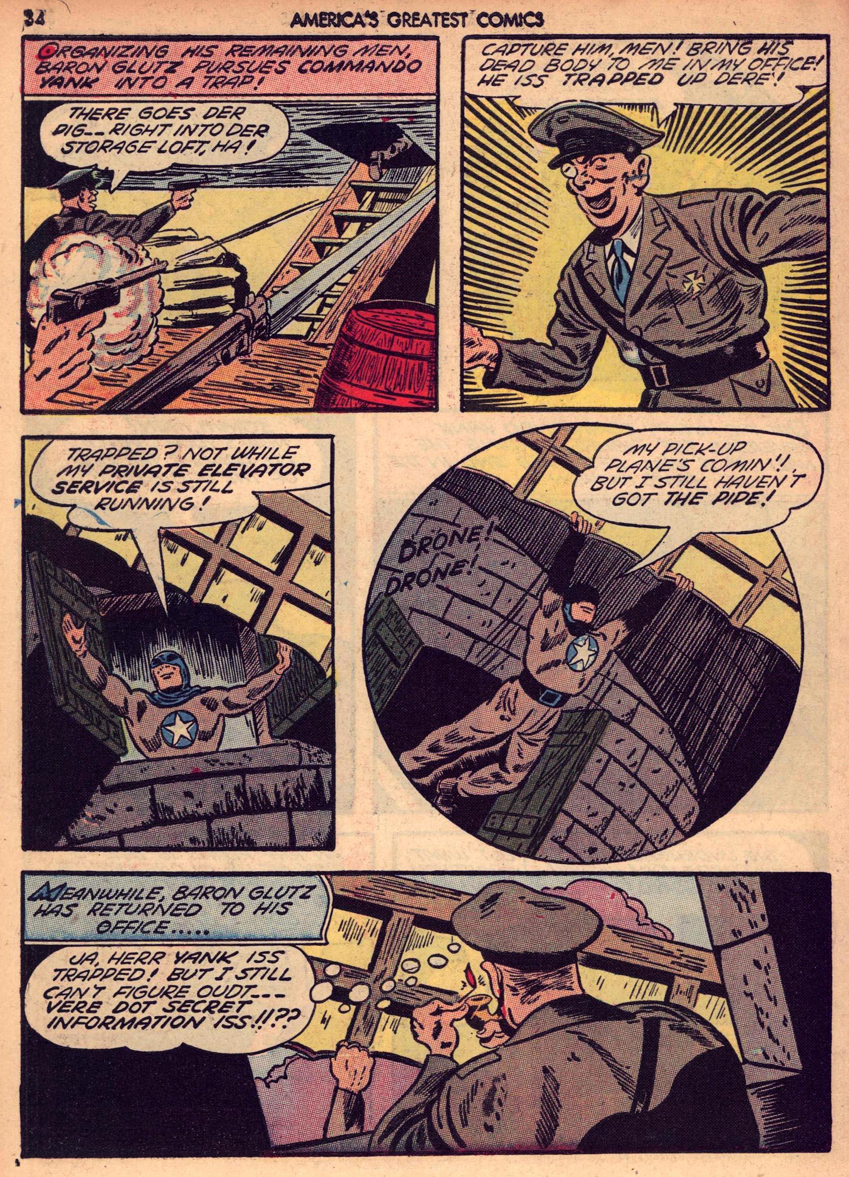 Read online America's Greatest Comics comic -  Issue #7 - 33