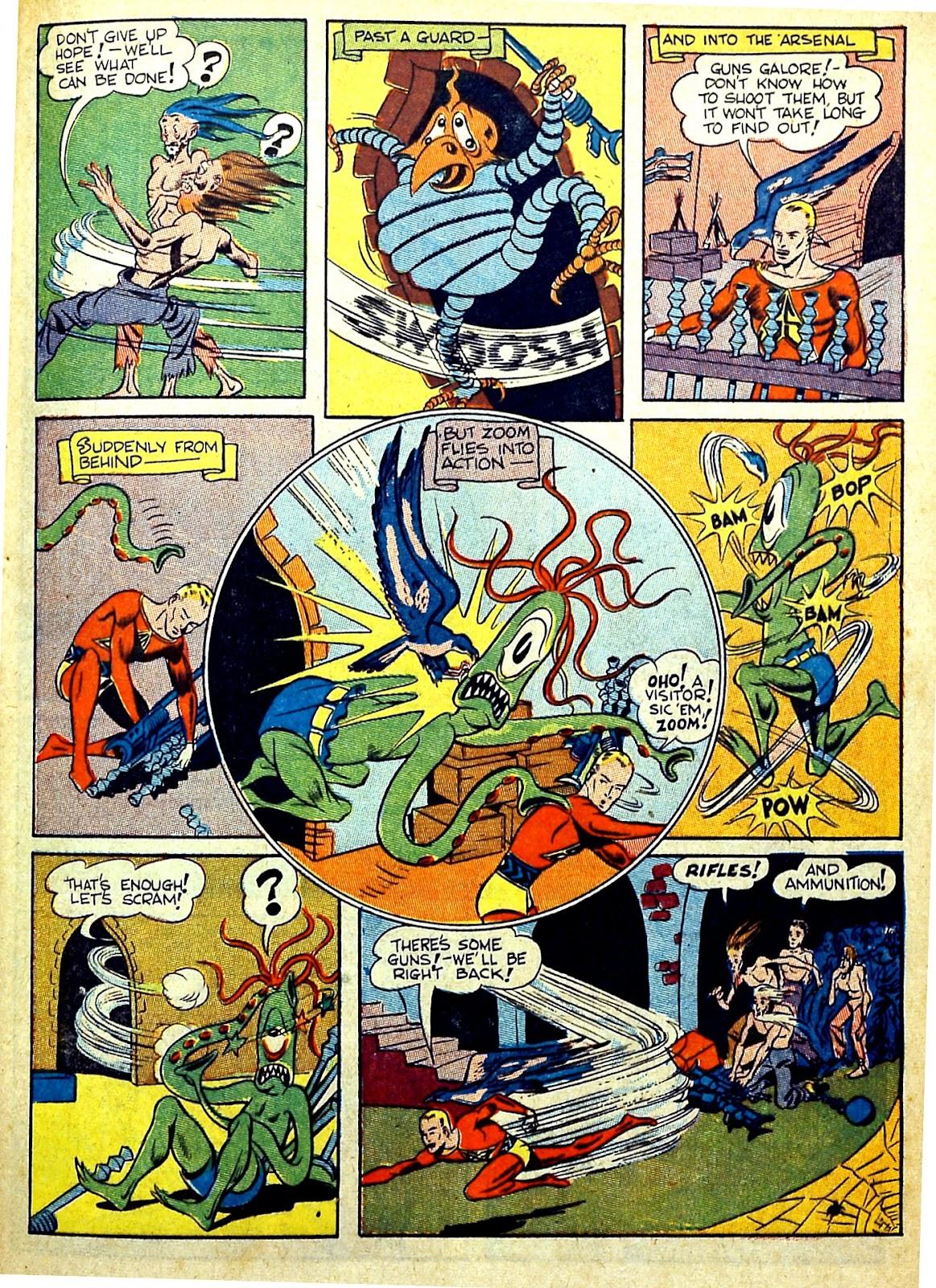 Read online Silver Streak Comics comic -  Issue #22 - 37