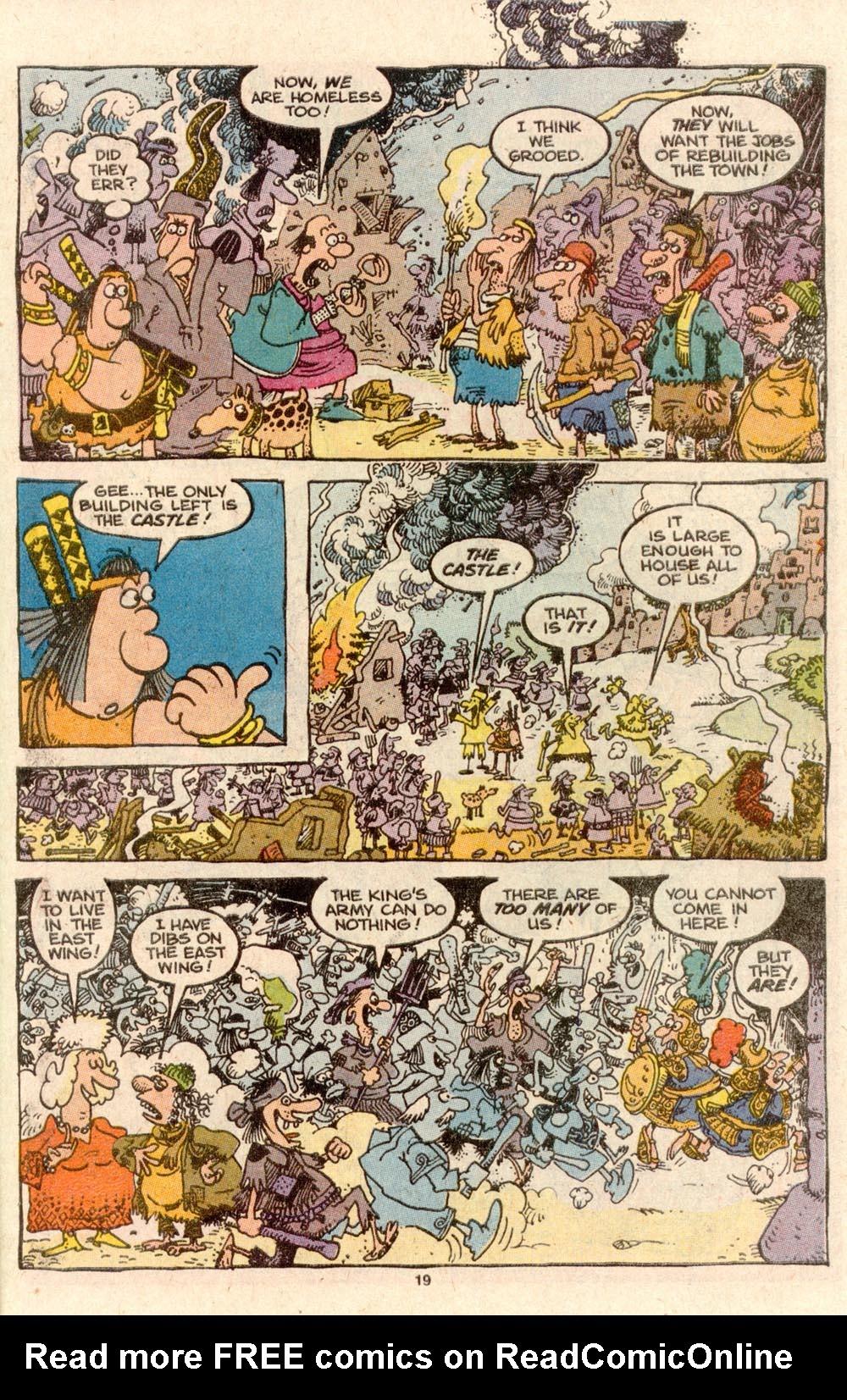 Read online Sergio Aragonés Groo the Wanderer comic -  Issue #60 - 19