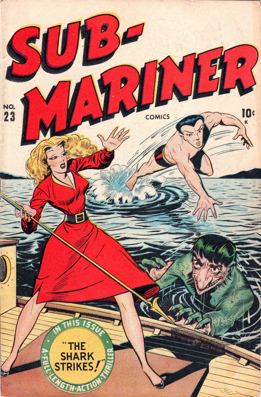 Sub-Mariner Comics 23 Page 1