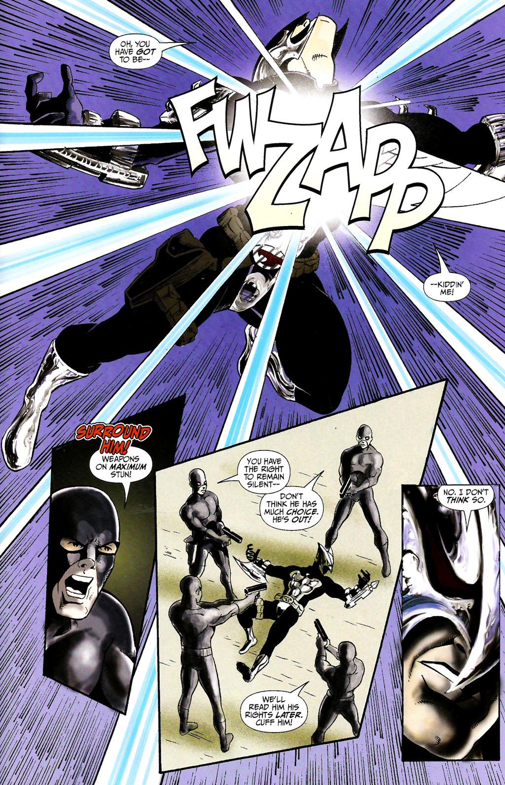 Read online ShadowHawk (2005) comic -  Issue #10 - 21