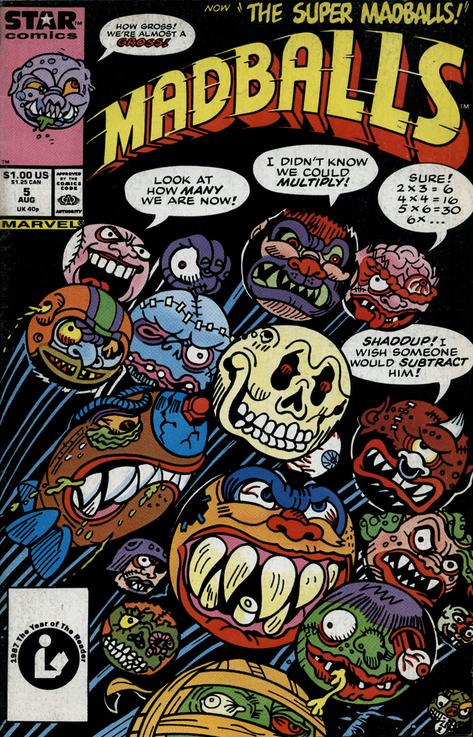 Madballs issue 5 - Page 1