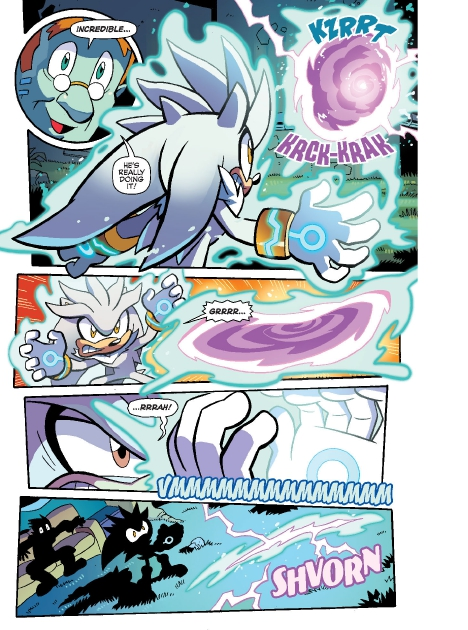 Read online Sonic Comics Spectacular: Speed of Sound comic -  Issue # Full - 116