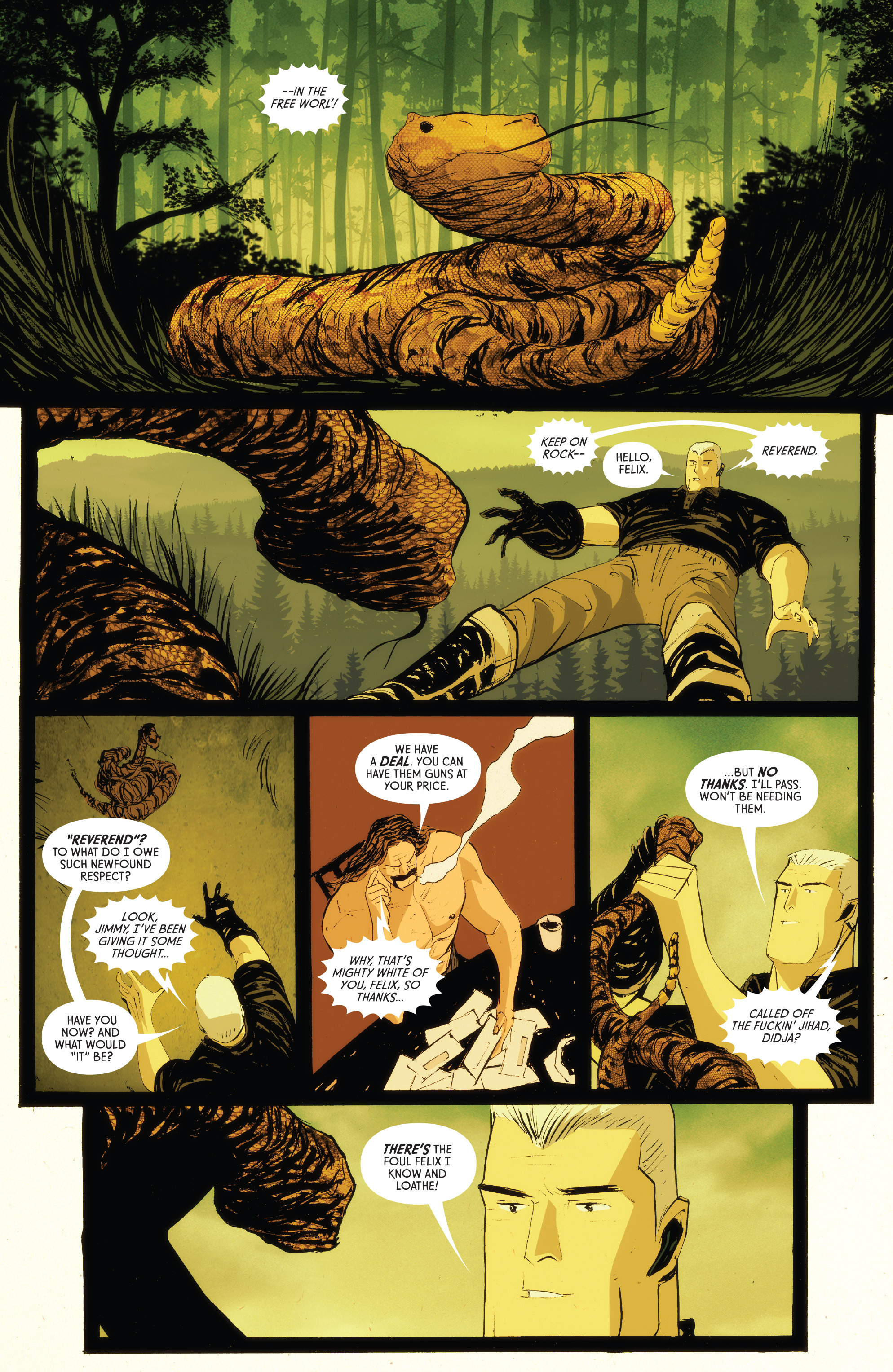 Read online American Monster comic -  Issue #5 - 8