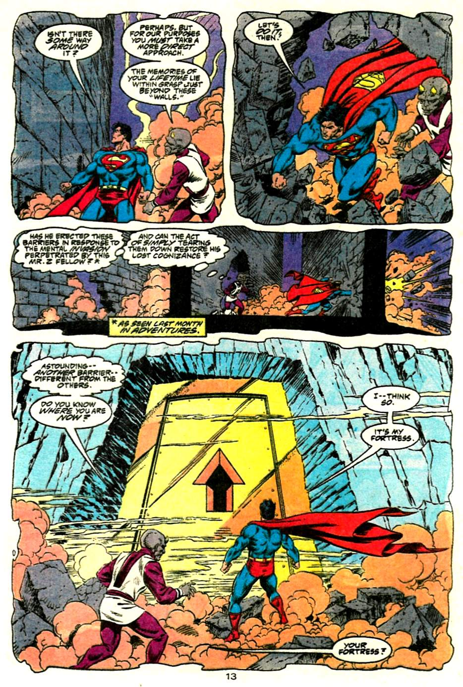Read online Adventures of Superman (1987) comic -  Issue #485 - 14