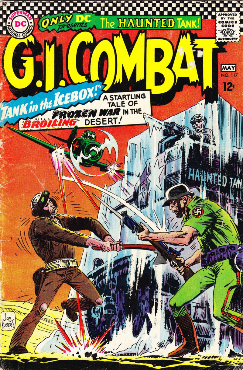 G.I. Combat (1952) 117 Page 1