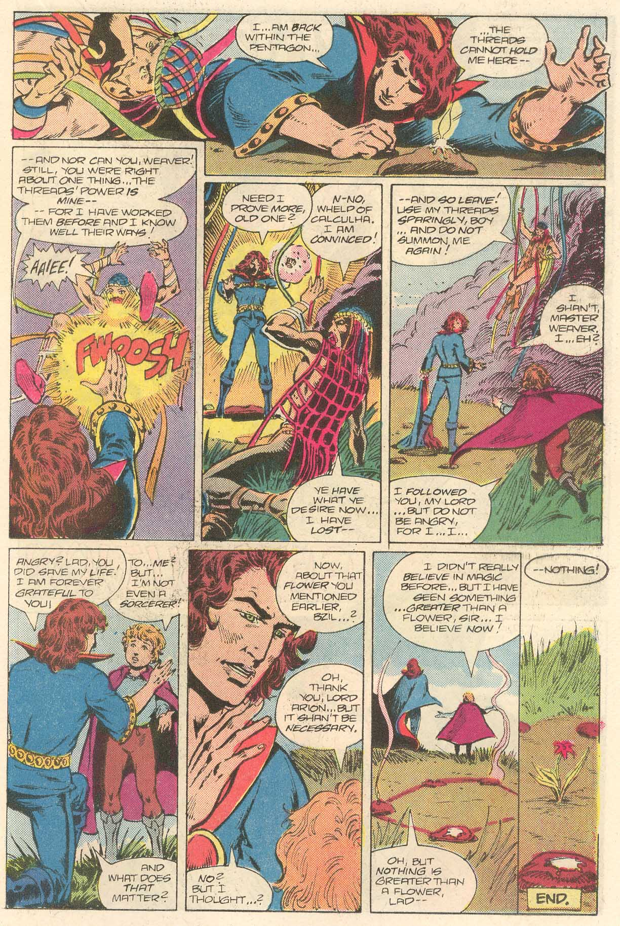 Read online Arion, Lord of Atlantis comic -  Issue #28 - 15
