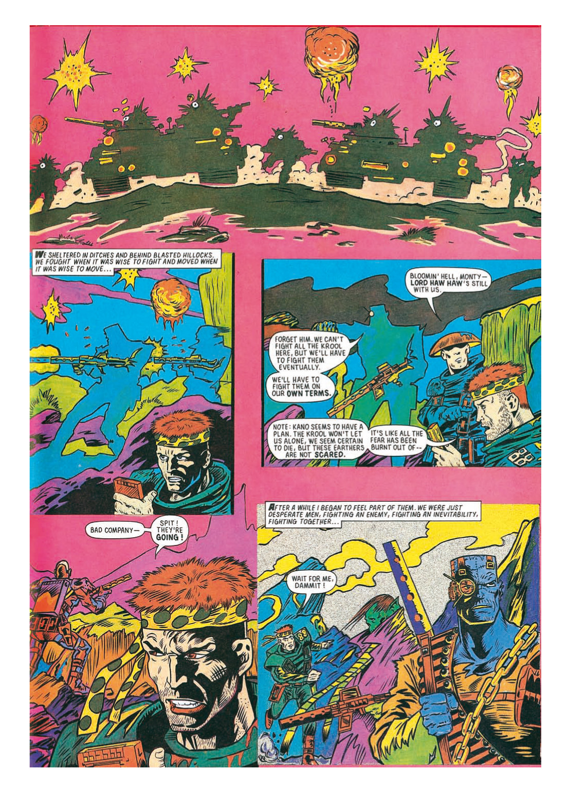 Read online The Complete Bad Company comic -  Issue # TPB - 251