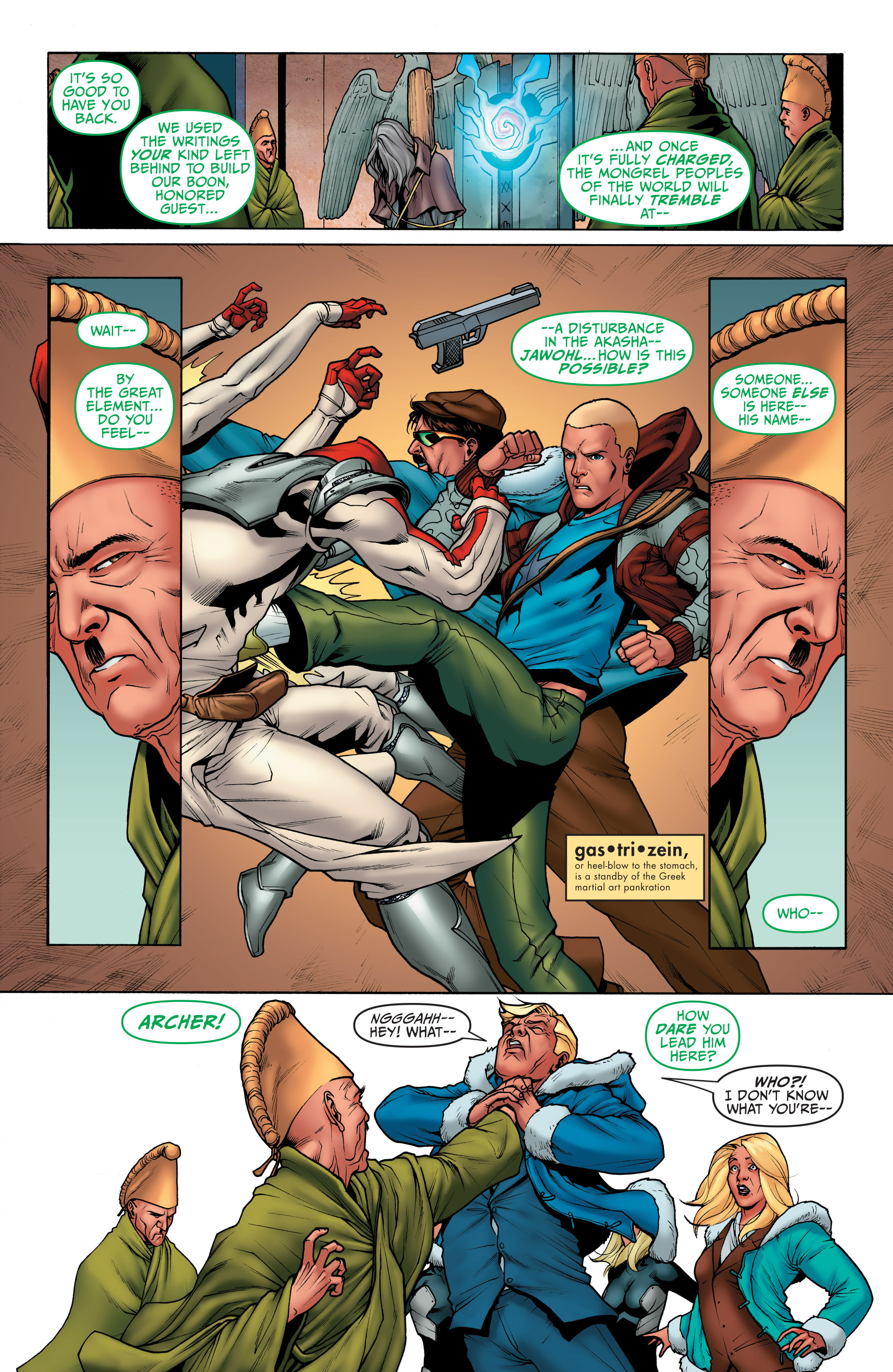 Read online Archer and Armstrong comic -  Issue #4 - 11
