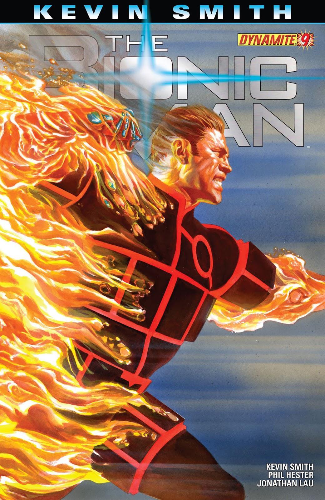 Bionic Man 9 Page 1
