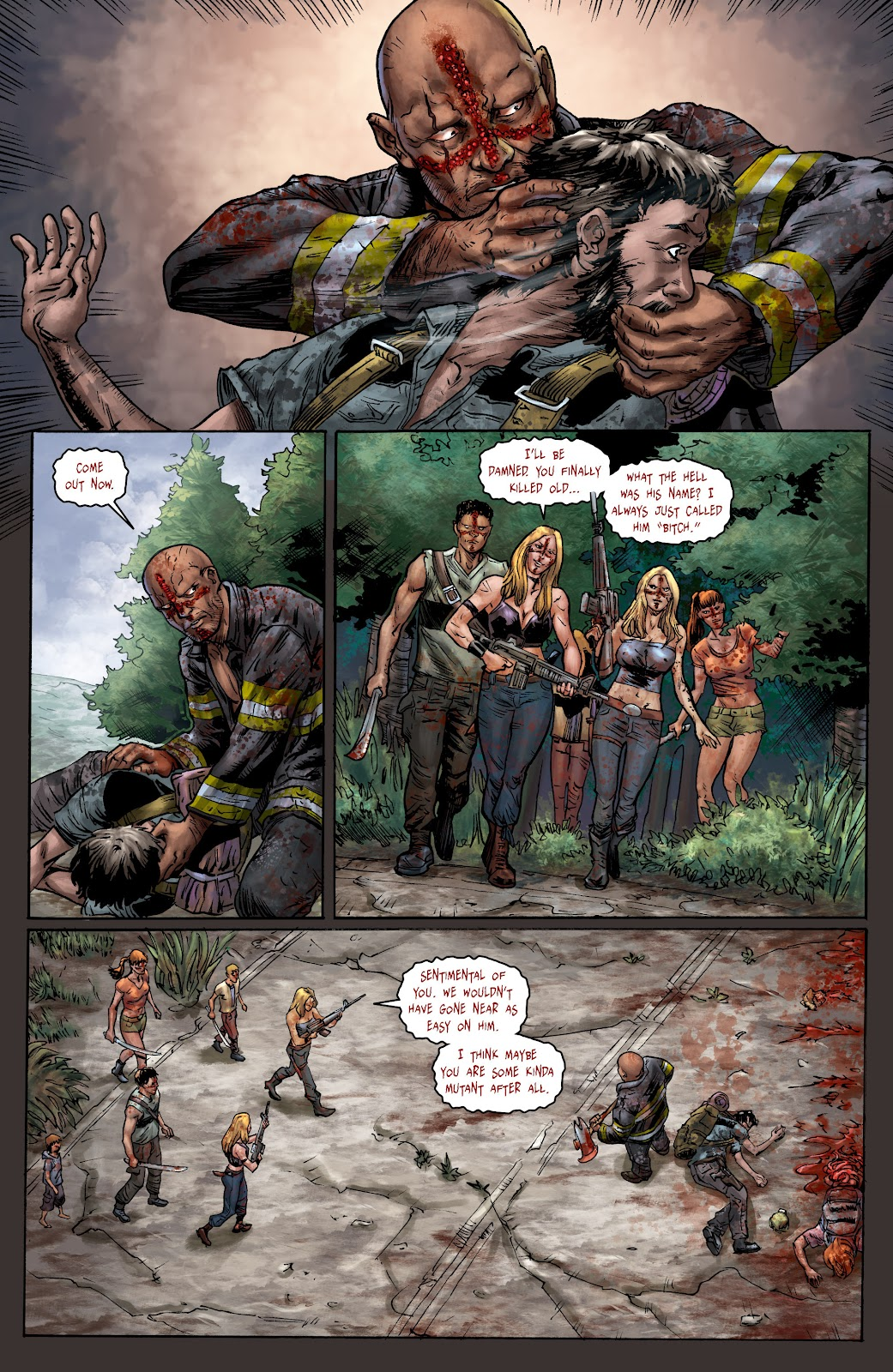 Crossed: Badlands issue 100 - Page 16
