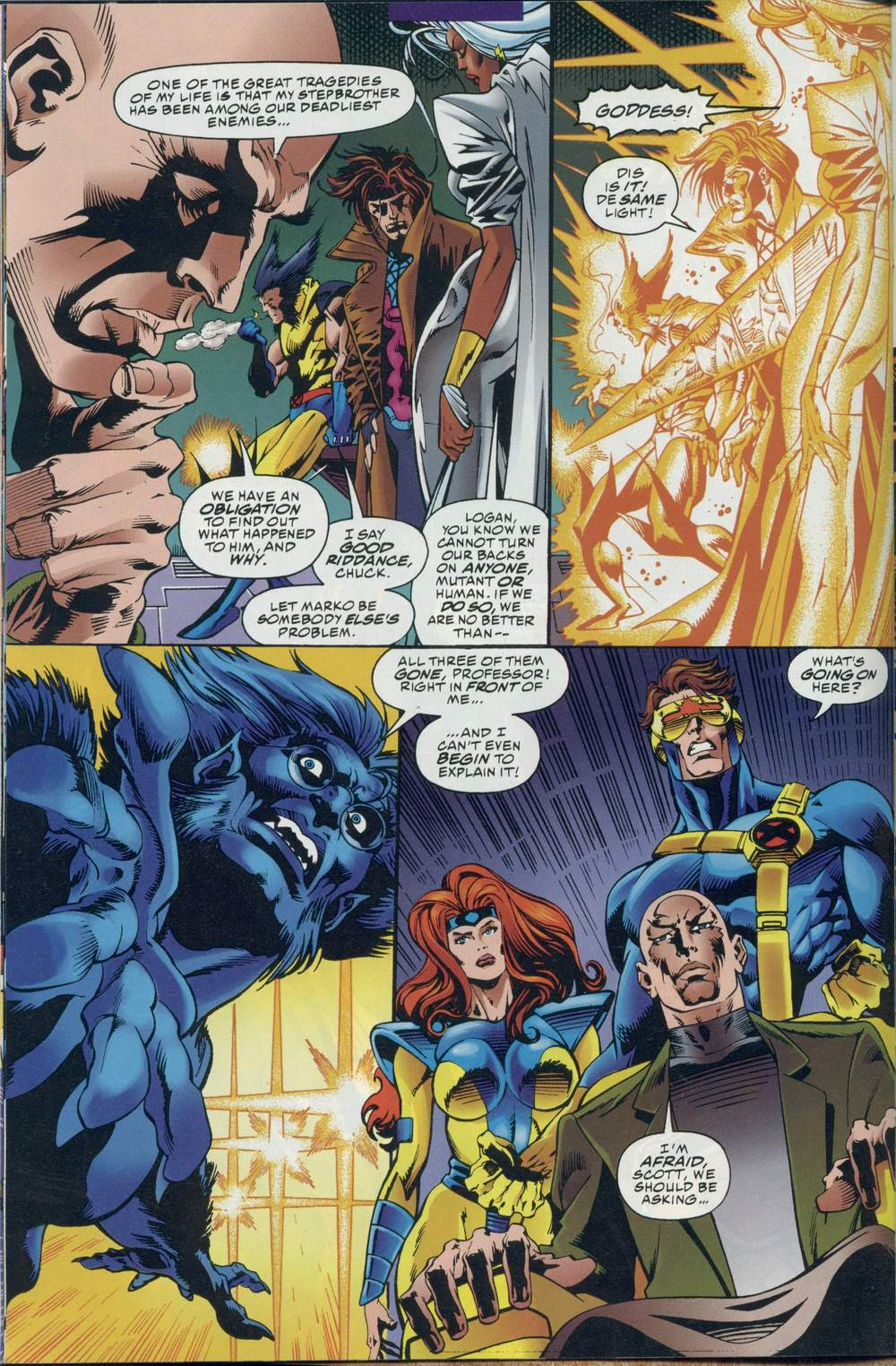 Read online DC Versus Marvel Comics comic -  Issue #1 - 18